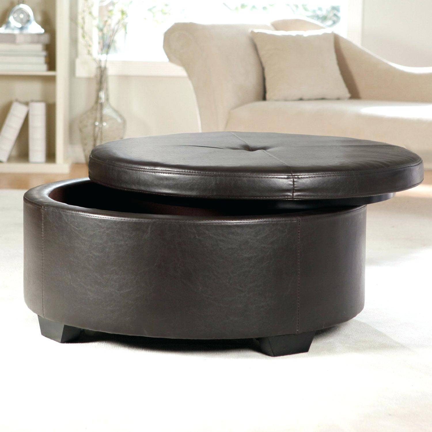 Coffee Table Walmart Round Side Tableikea Glass Top With Storage throughout Round Coffee Table Storages (Image 4 of 30)