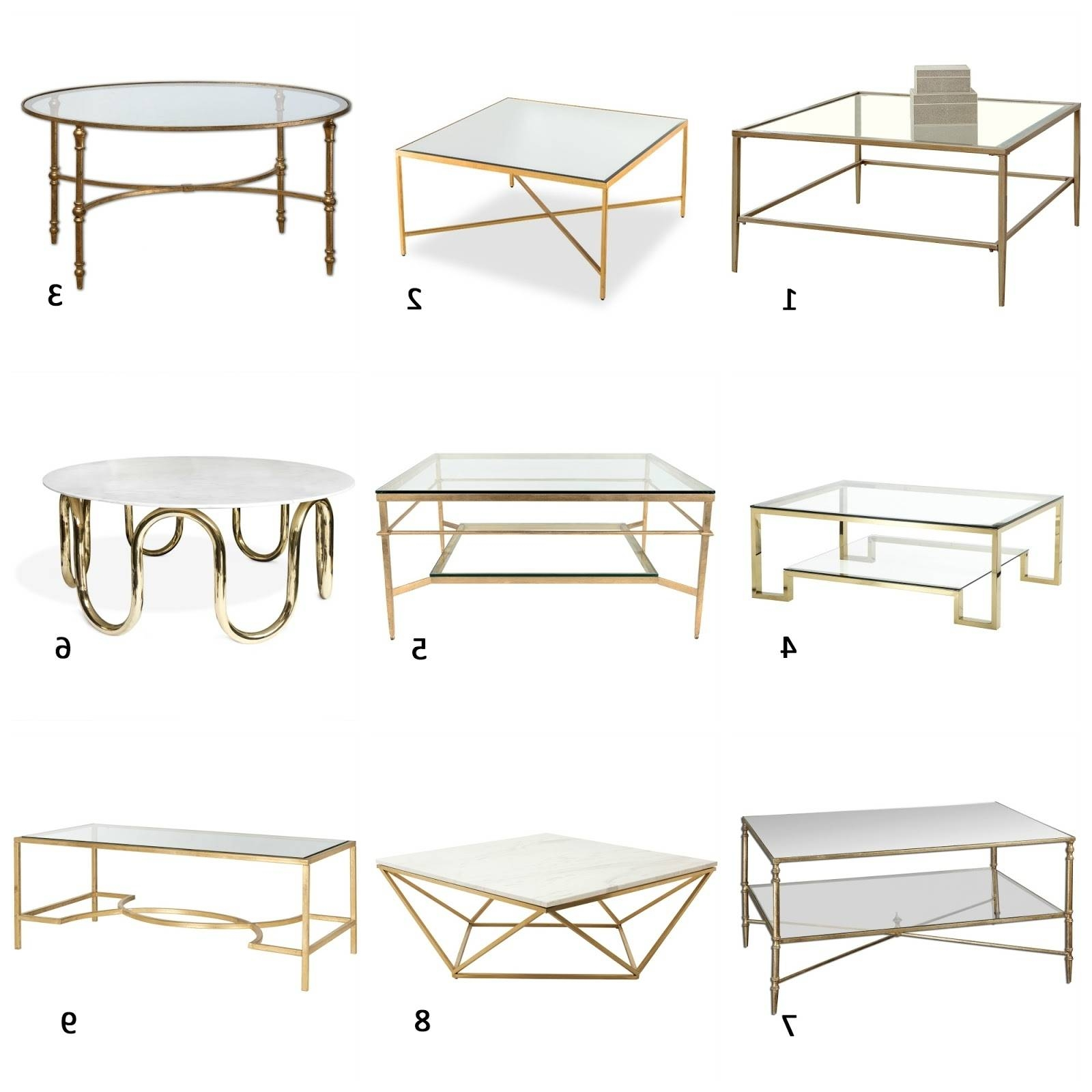 2018 Popular Wayfair Glass Coffee Tables