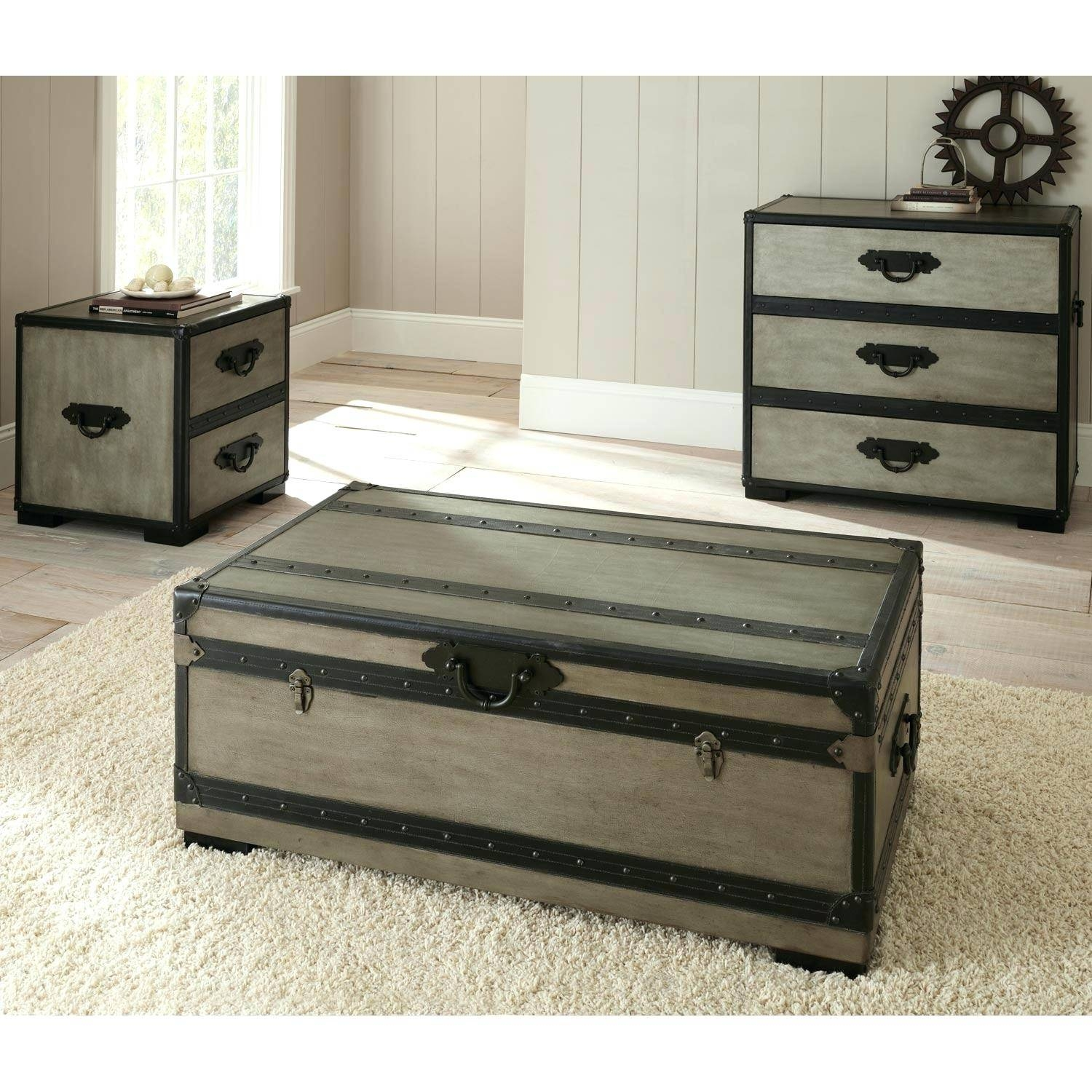 Coffee Table ~ White And Wood Coffee Table Finding Stainless Iron in White Coffee Tables With Baskets (Image 8 of 30)