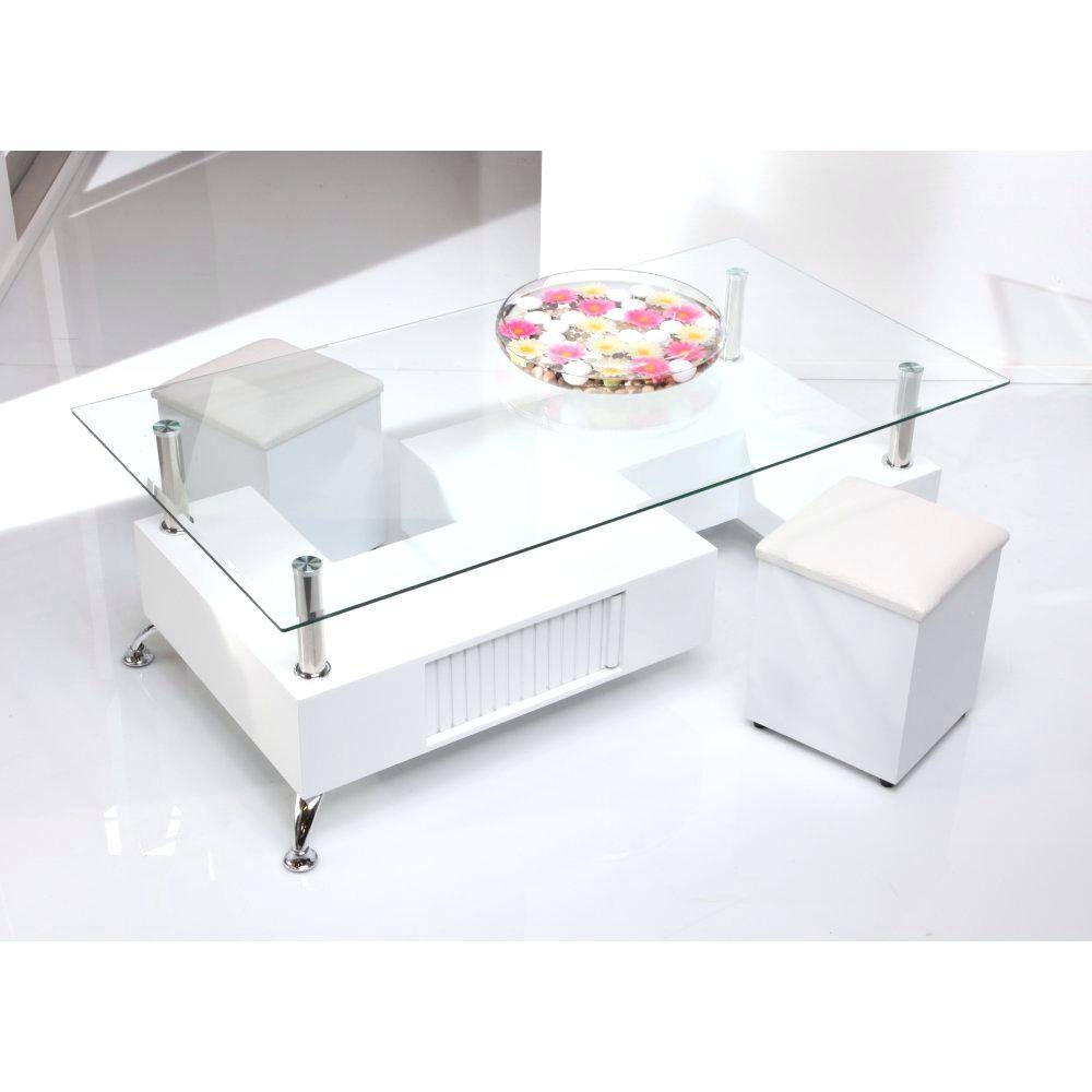 Coffee Table ~ White Glass Coffee Table Tables Tablesmodern Round pertaining to White and Glass Coffee Tables (Image 3 of 30)