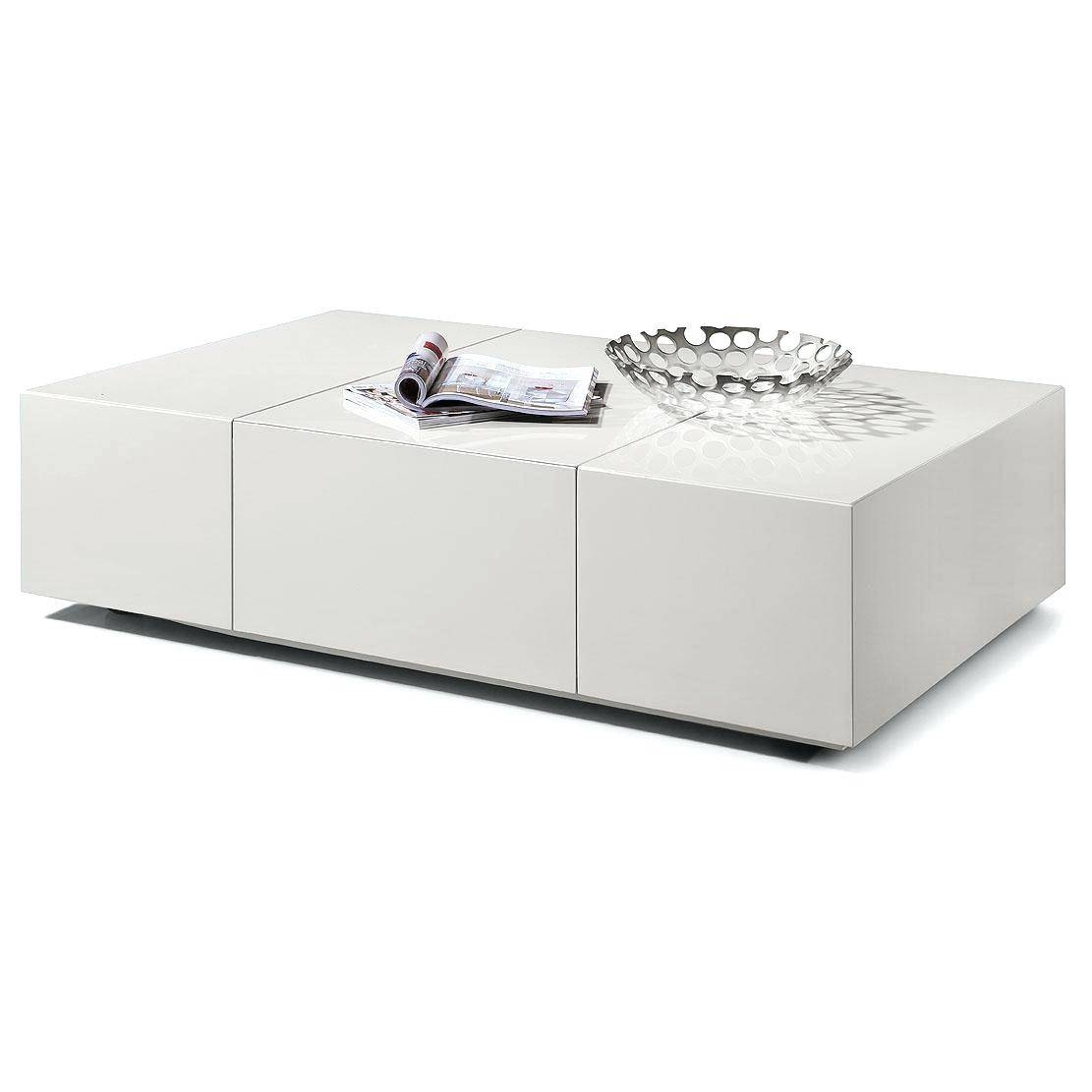 Coffee Table ~ White High Gloss Coffee Table Pictures Modernsquare with regard to White Coffee Tables With Baskets (Image 9 of 30)