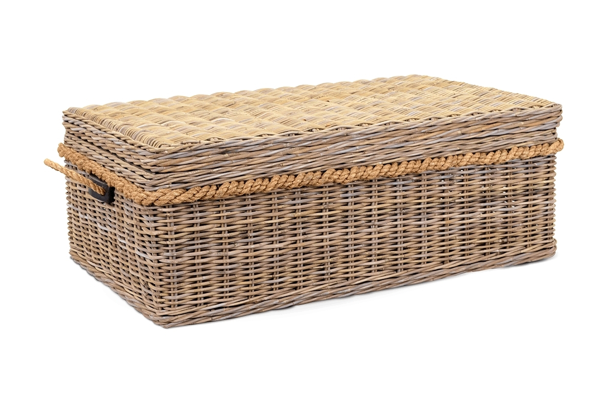 Coffee Table With Baskets / Coffee Tables / Thippo for Coffee Tables With Baskets Underneath (Image 6 of 30)