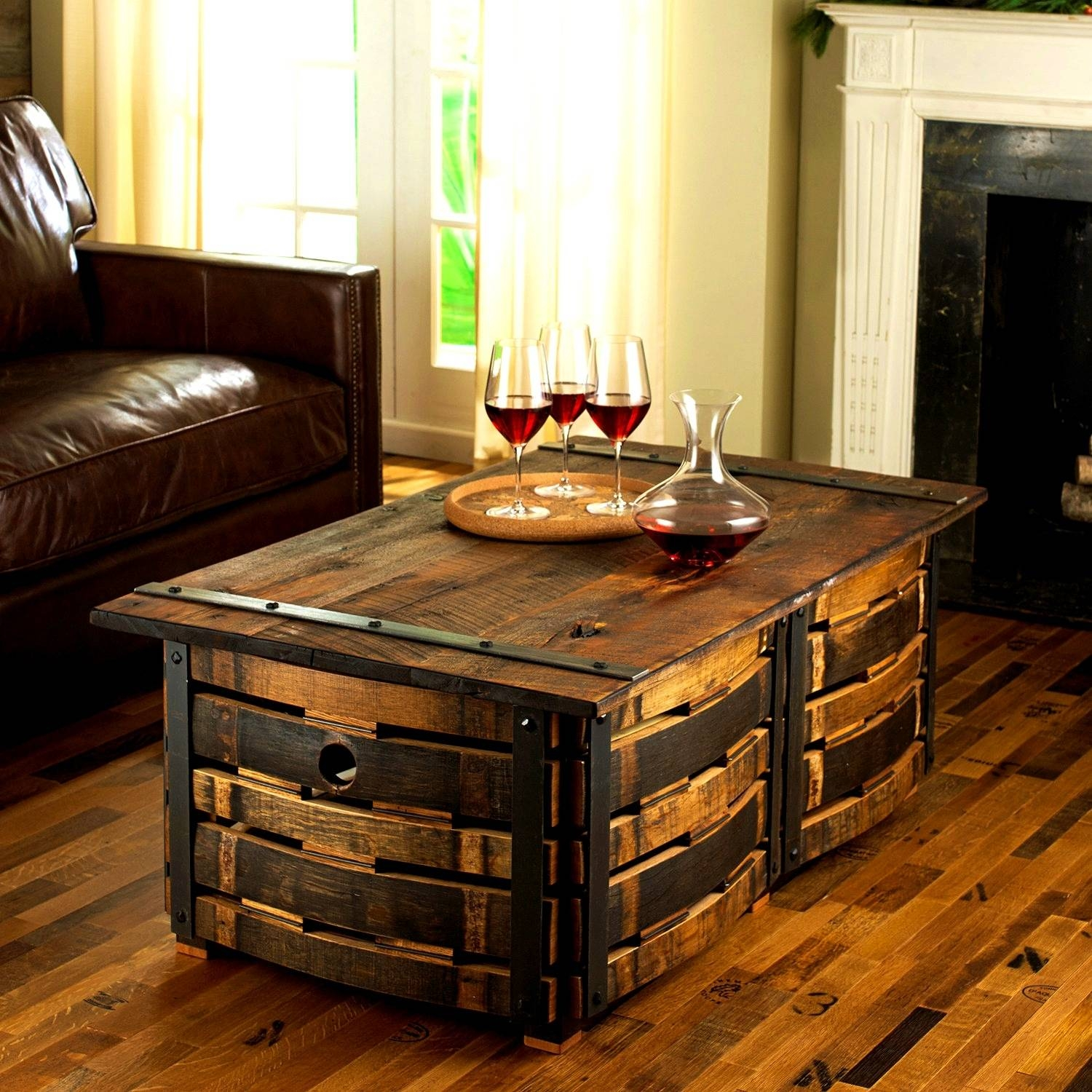 Coffee Table With Baskets Underneath / Coffee Tables / Thippo for Coffee Tables With Baskets Underneath (Image 8 of 30)