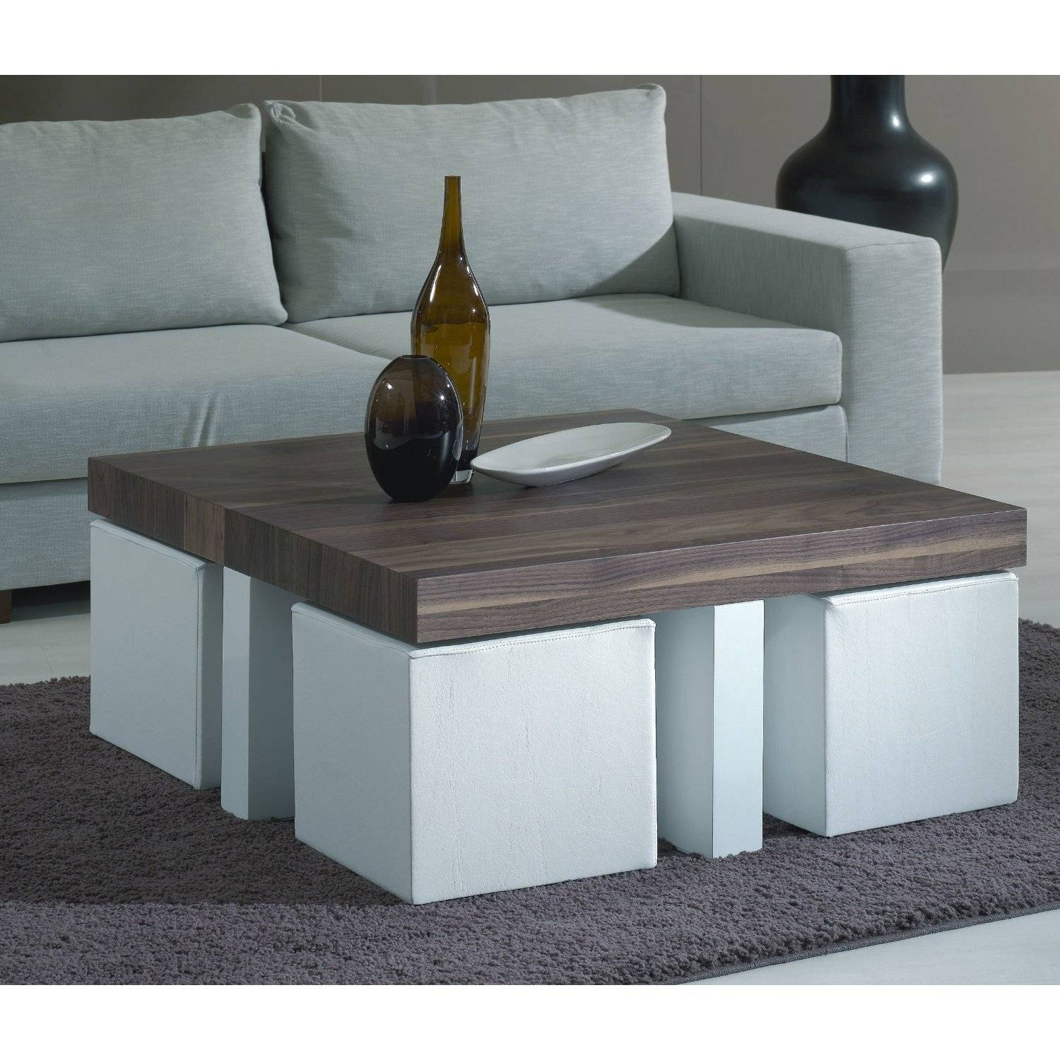 Coffee Table With Chairs Underneath | Coffee Tables Decoration Regarding Coffee Tables With Seating And Storage (View 4 of 30)