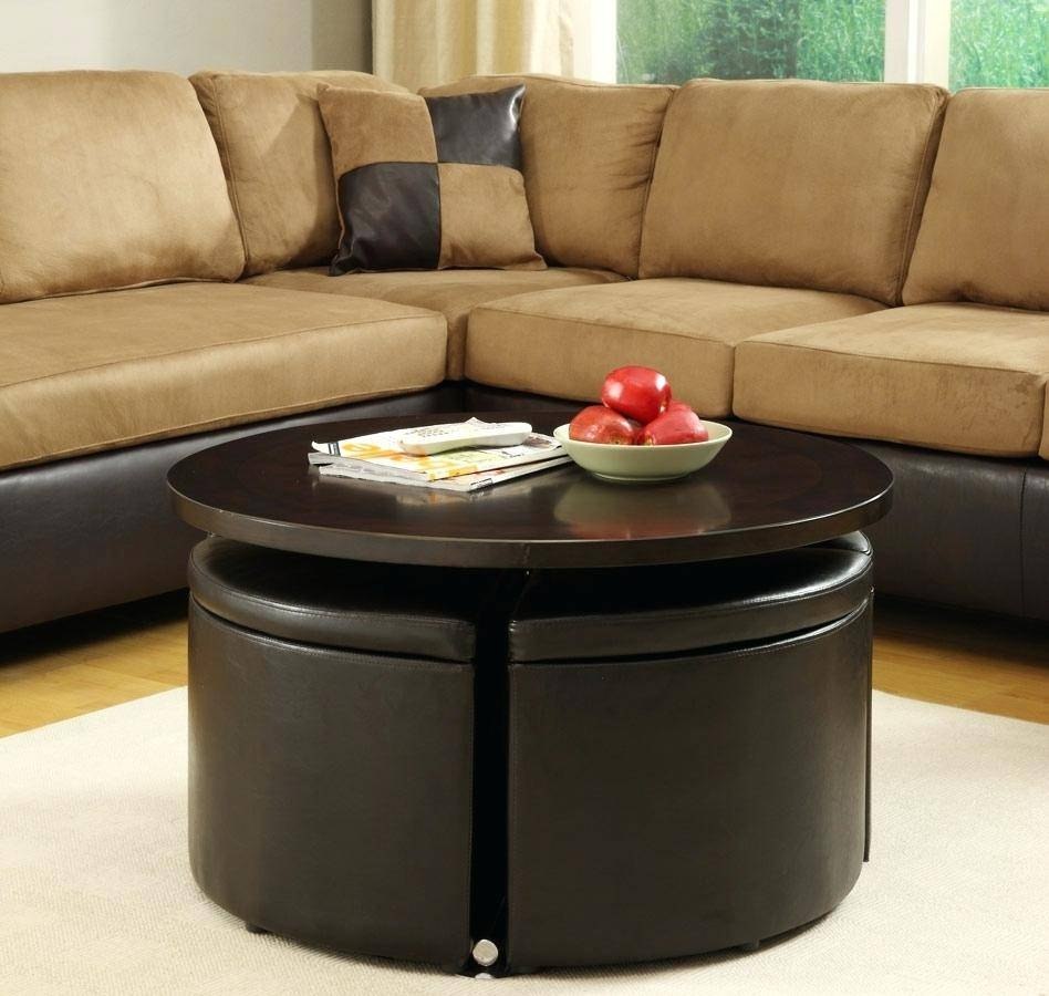 Coffee Table With Ottoman Seating | Rockdov Home Design Regarding Coffee Tables With Seating And Storage (View 6 of 30)