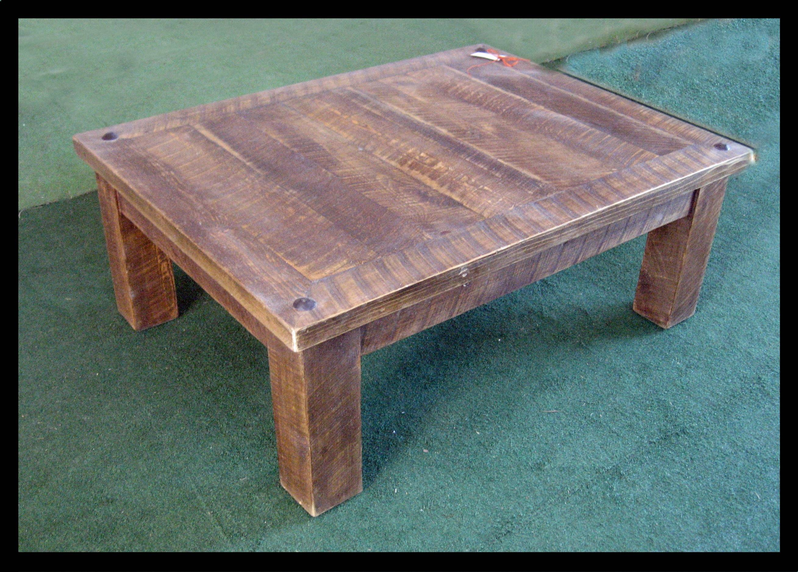 Best 30 of Rustic Barnwood Coffee Tables