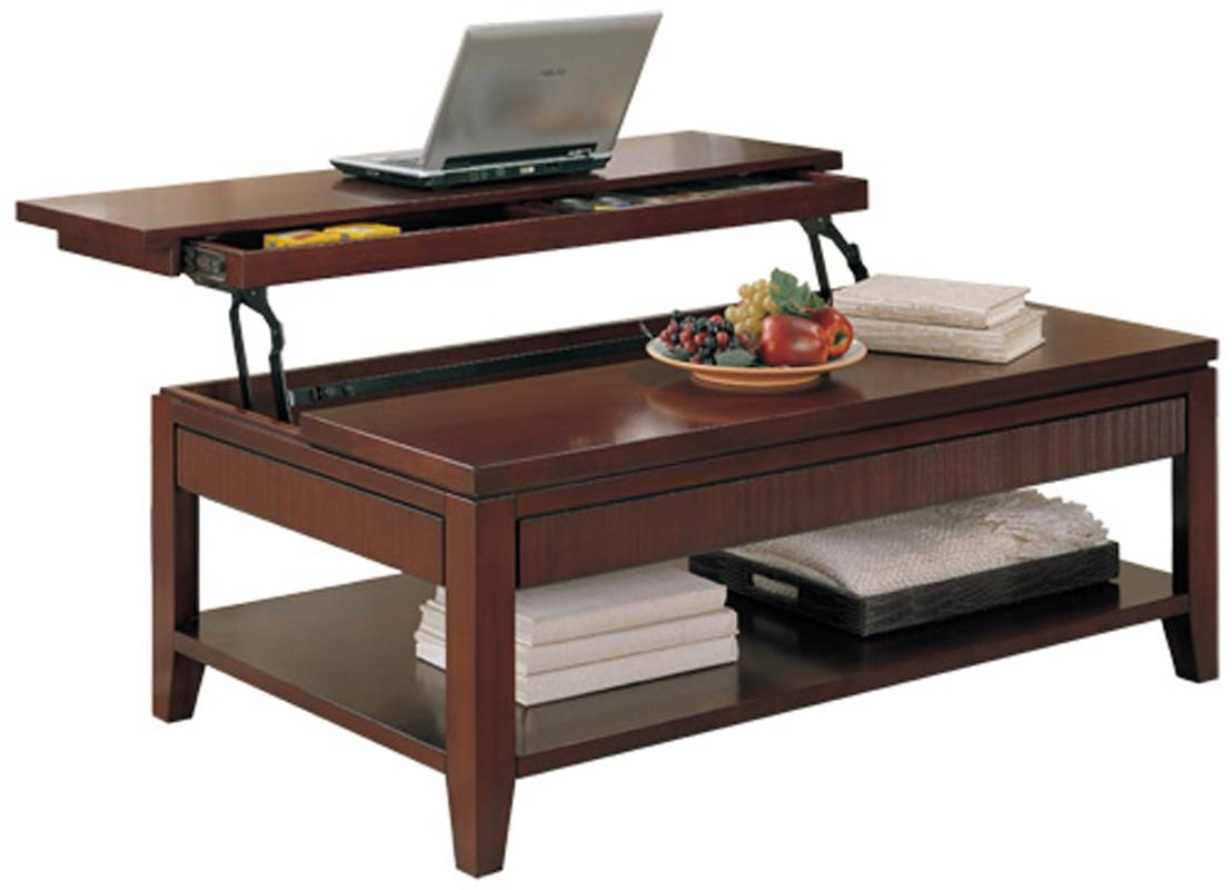 Coffee Table With Storage And Lift Top | Coffee Tables Decoration intended for Top Lift Coffee Tables (Image 8 of 30)