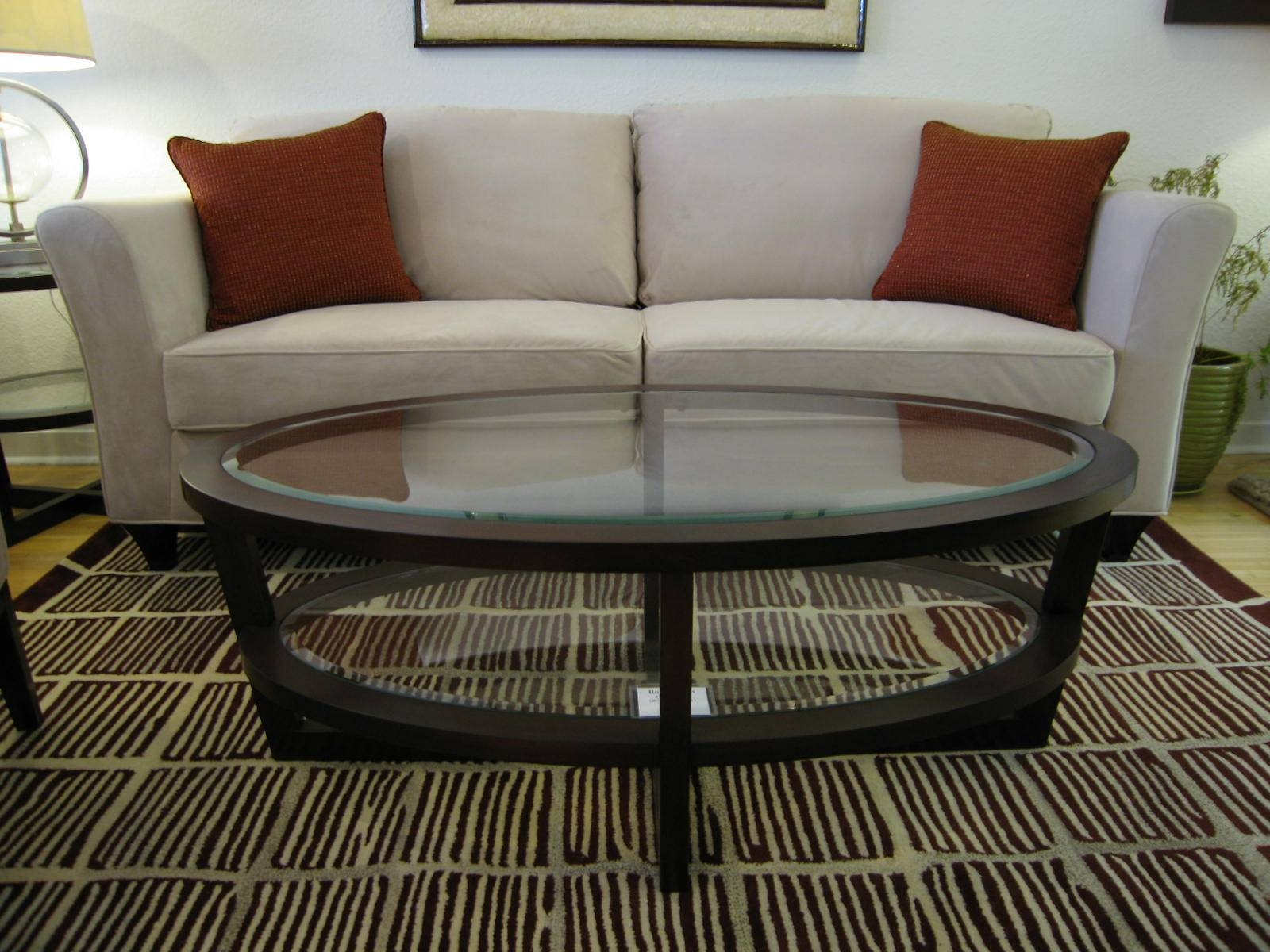 Coffee Table: Wonderful Oval Coffee Tables For Sale Oval Coffee within Coffee Tables With Oval Shape (Image 10 of 30)