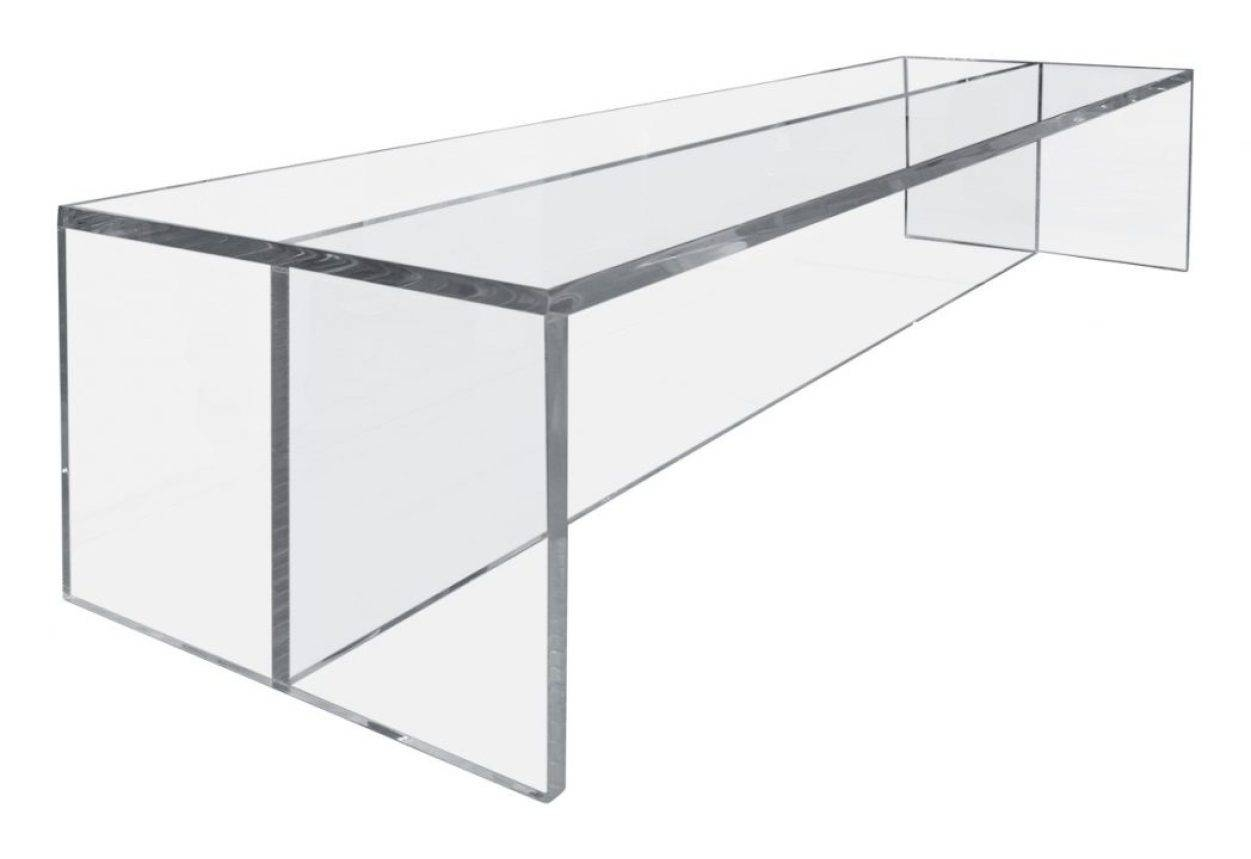 Coffee Tables : Acrylic Coffee Table Tobeknown Acrylic Cube Table in Acrylic Coffee Tables With Magazine Rack (Image 12 of 30)