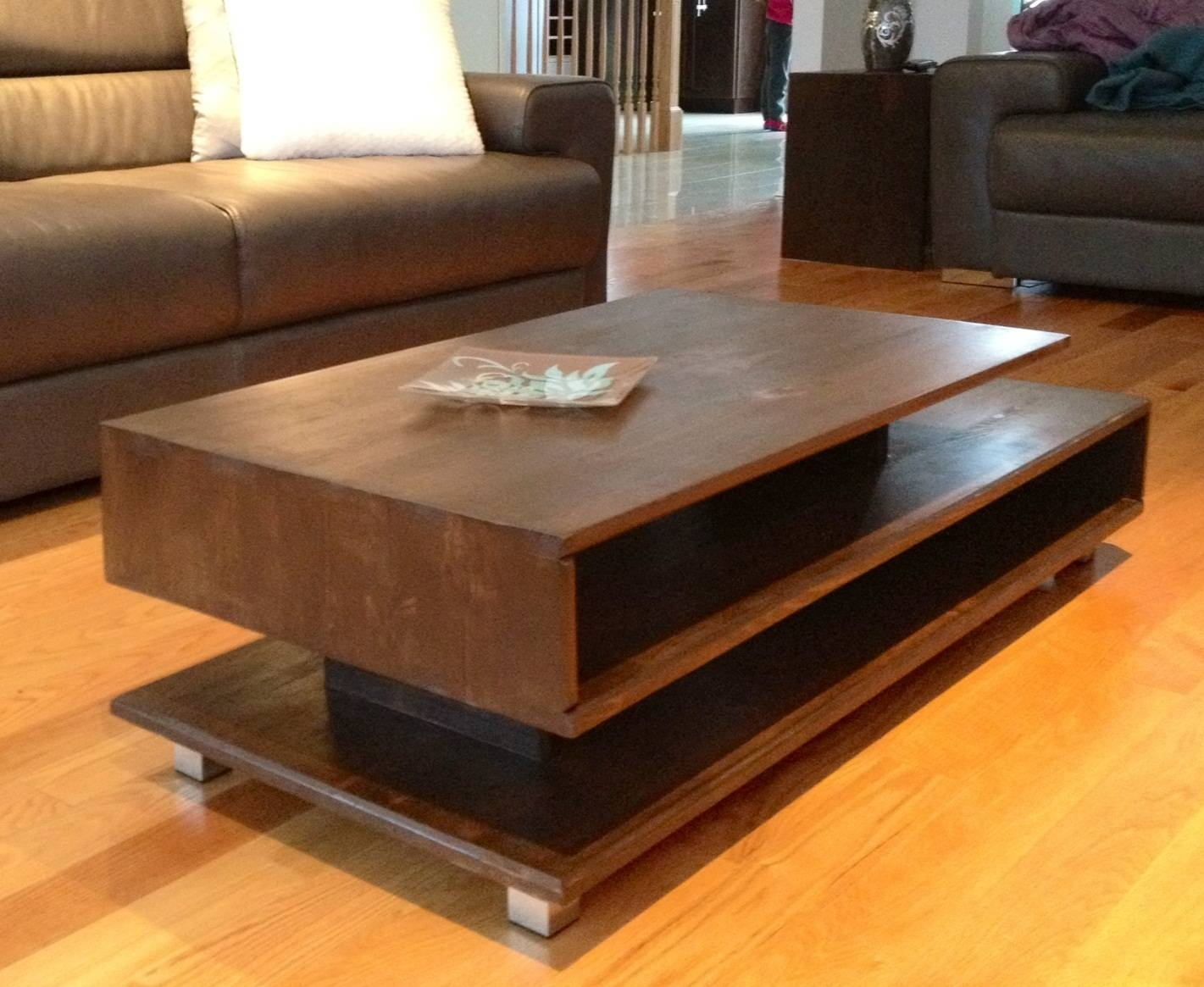 Coffee Tables: Appealing Coffee Tables Modern Designs Round Modern inside Wood Modern Coffee Tables (Image 8 of 30)