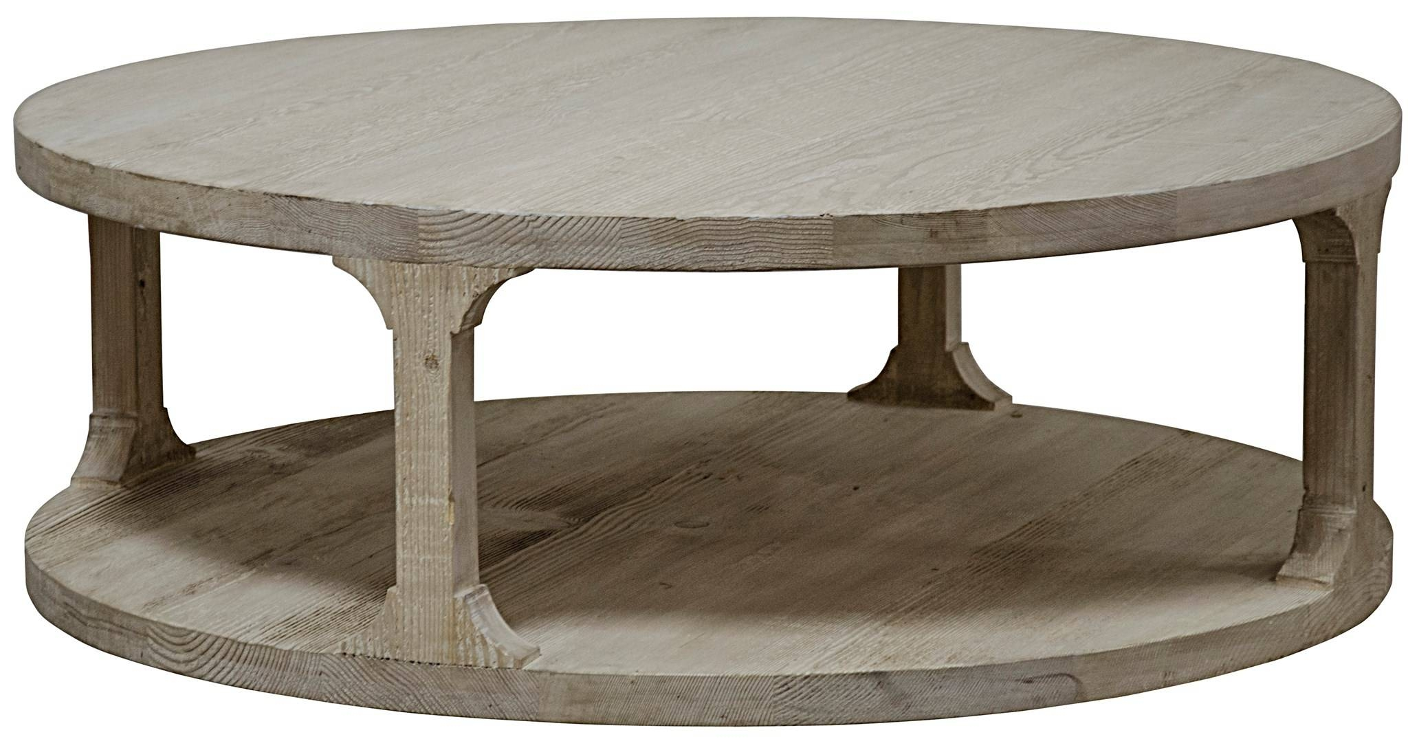 Coffee Tables: Astounding Round Coffee Tables Ideas Round Coffee inside Grey Wash Coffee Tables (Image 15 of 30)