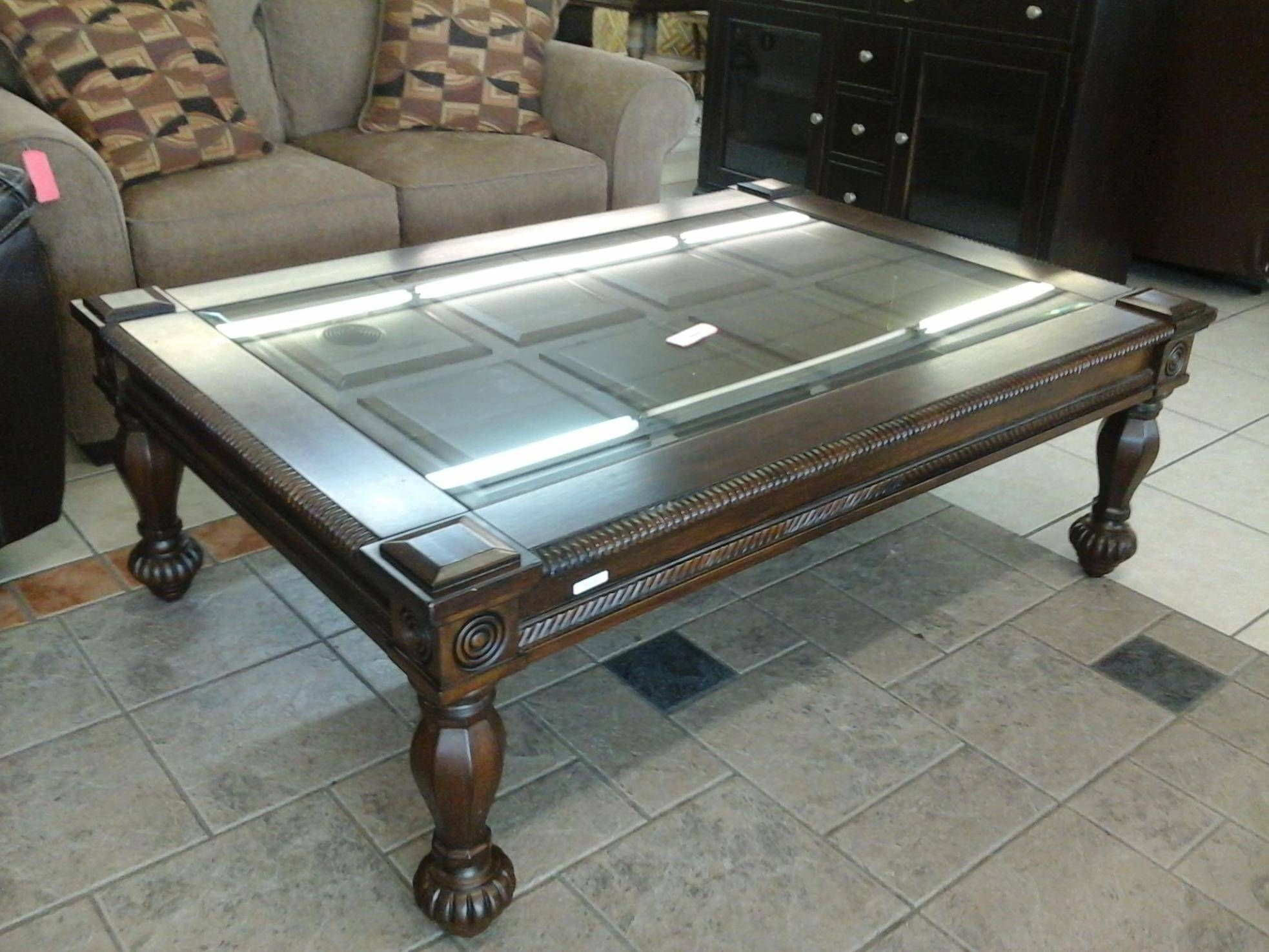 Coffee Tables: Best Oversized Coffee Tables Designs Oversized for Antique Glass Coffee Tables (Image 14 of 30)