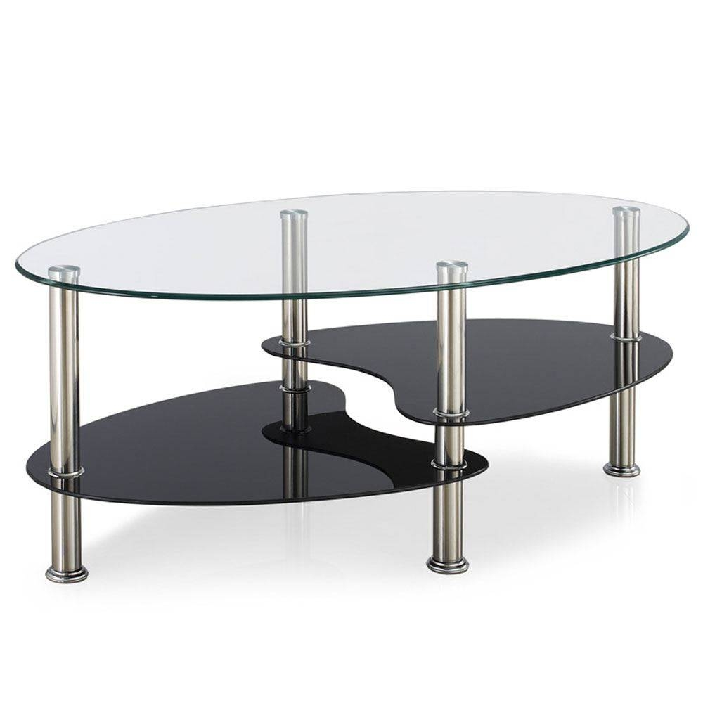 Best 30 of elena coffee tables coffee tables cara elena elise glass top stainless steel modern intended for elena coffee tables geotapseo Choice Image