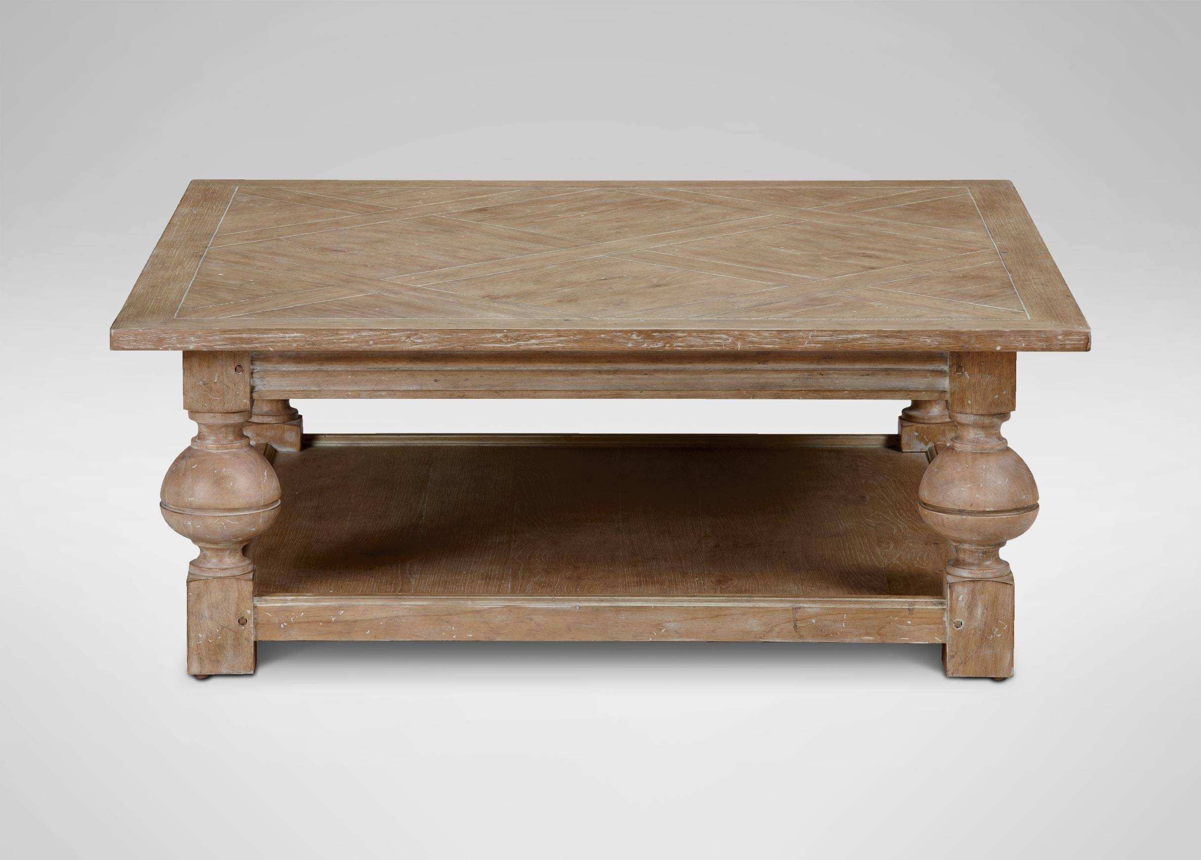 "Coffee Tables: Charming Square Coffee Tables Designs 48"" Square with Oak Square Coffee Tables (Image 4 of 30)"