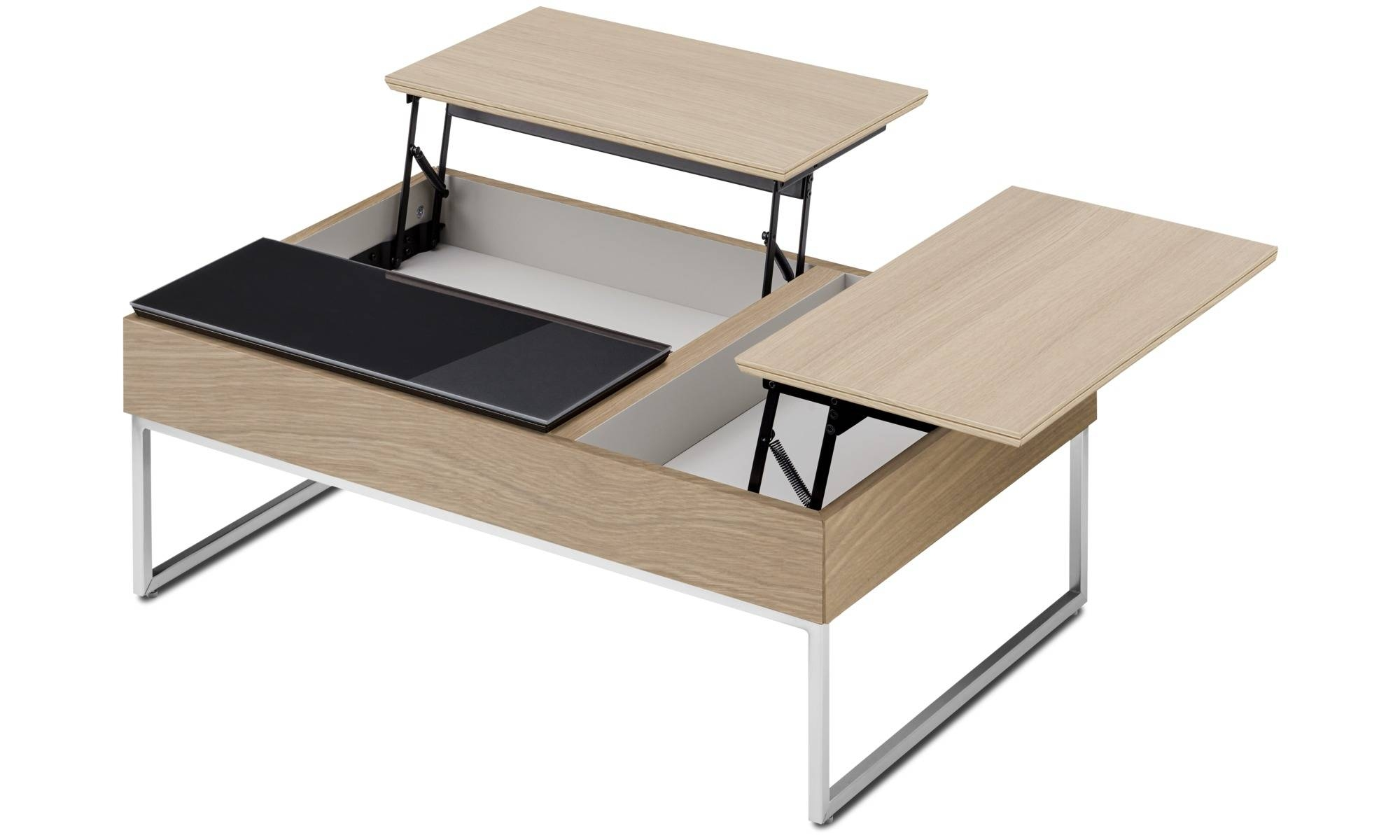 Coffee Tables - Chiva Functional Coffee Table With Storage - Boconcept pertaining to Desk Coffee Tables (Image 6 of 30)