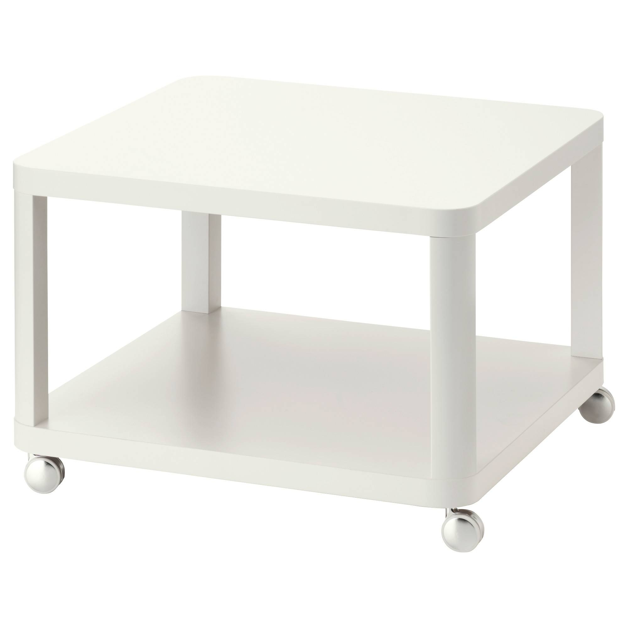 Coffee Tables & Console Tables - Ikea for Glass Coffee Tables With Casters (Image 13 of 30)