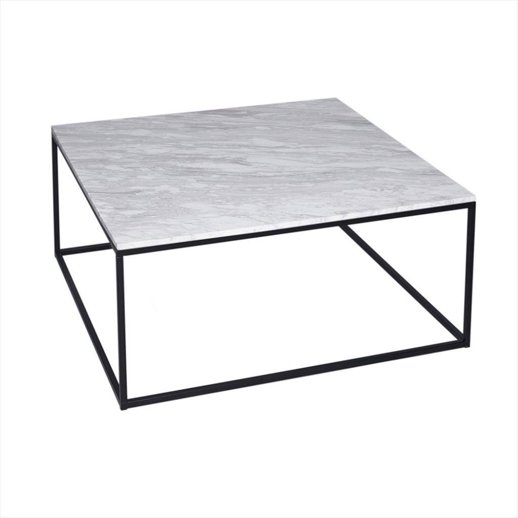 Coffee Tables Designs: Chic Black Metal Coffee Table Ideas Metal intended for Metal Coffee Tables (Image 13 of 30)