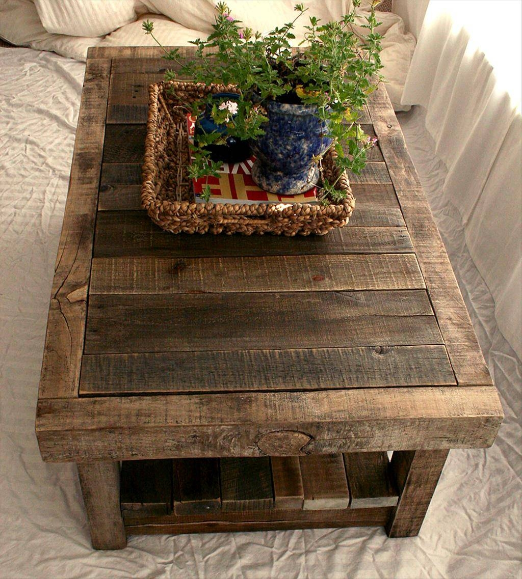 Coffee Tables Designs: Chic Black Metal Coffee Table Ideas Metal pertaining to Rustic Barnwood Coffee Tables (Image 8 of 30)