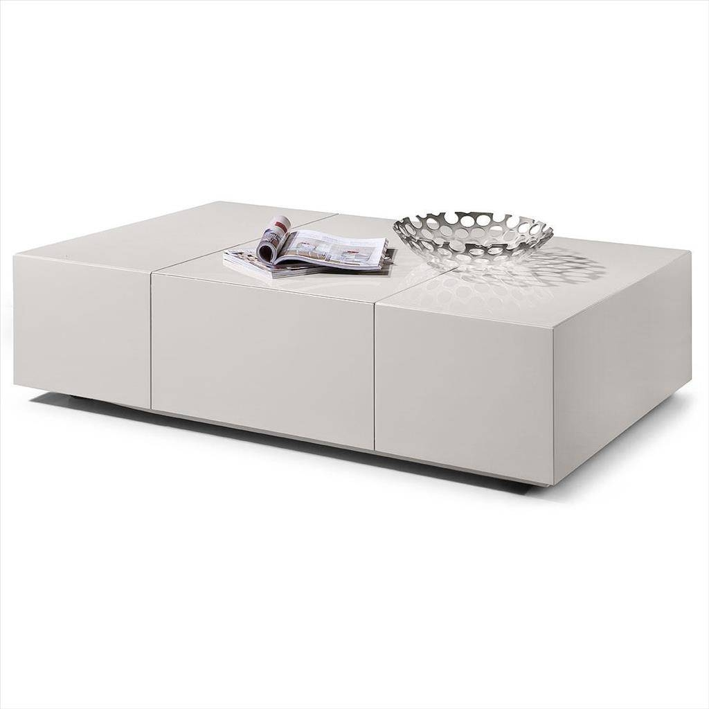 Coffee Tables Designs: Marvelous White Coffee Table With Storage With White Coffee Tables With Storage (View 13 of 30)