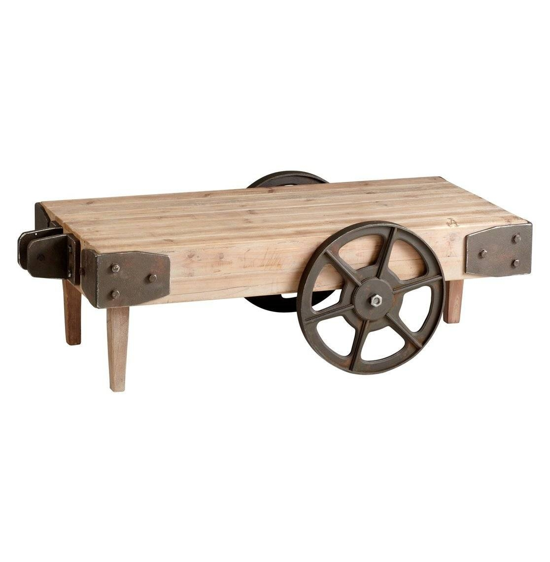 Coffee Tables: Enchanting Coffee Tables With Wheels Design Ideas within Wheels Coffee Tables (Image 10 of 30)