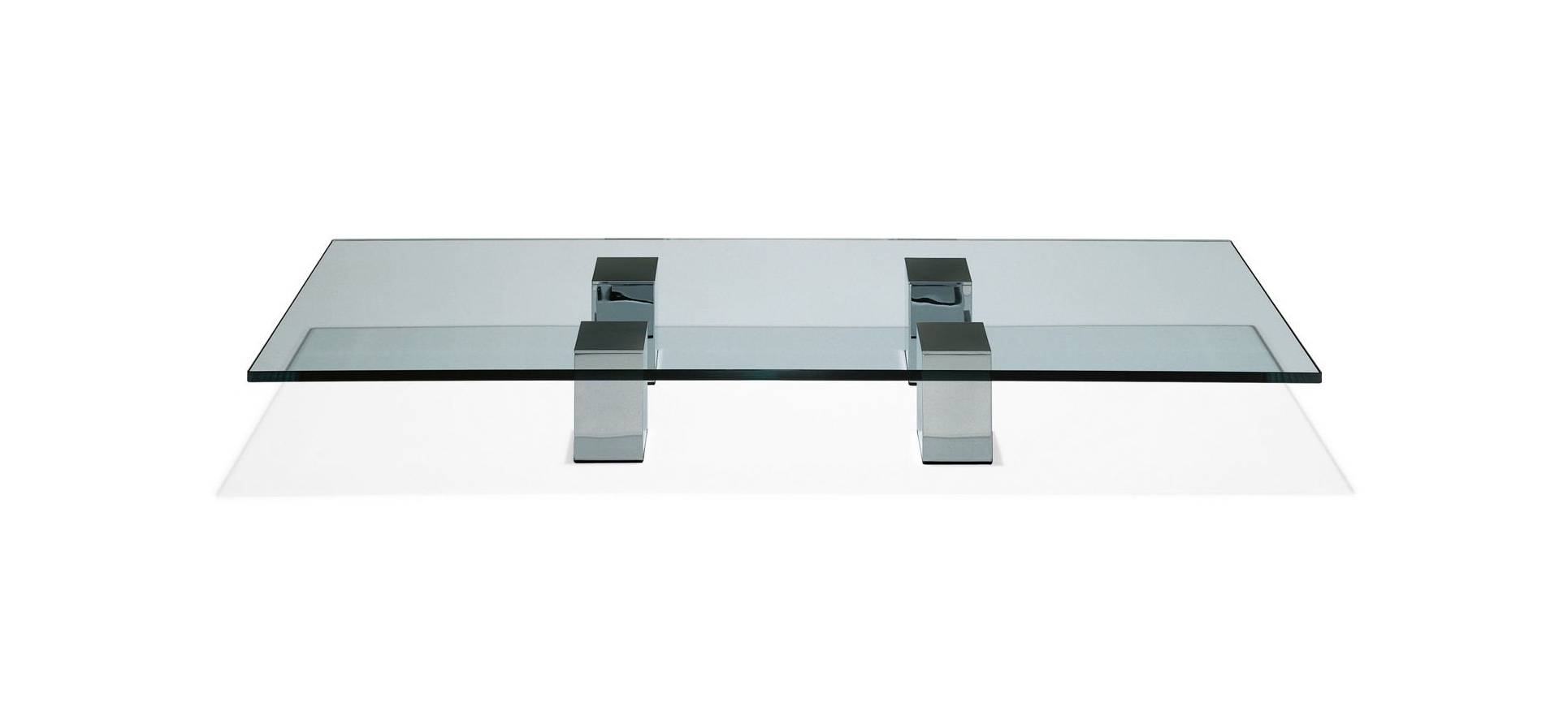 Coffee Tables: Enchanting Modern Glass Coffee Tables Designs All with regard to Contemporary Glass Coffee Tables (Image 11 of 30)