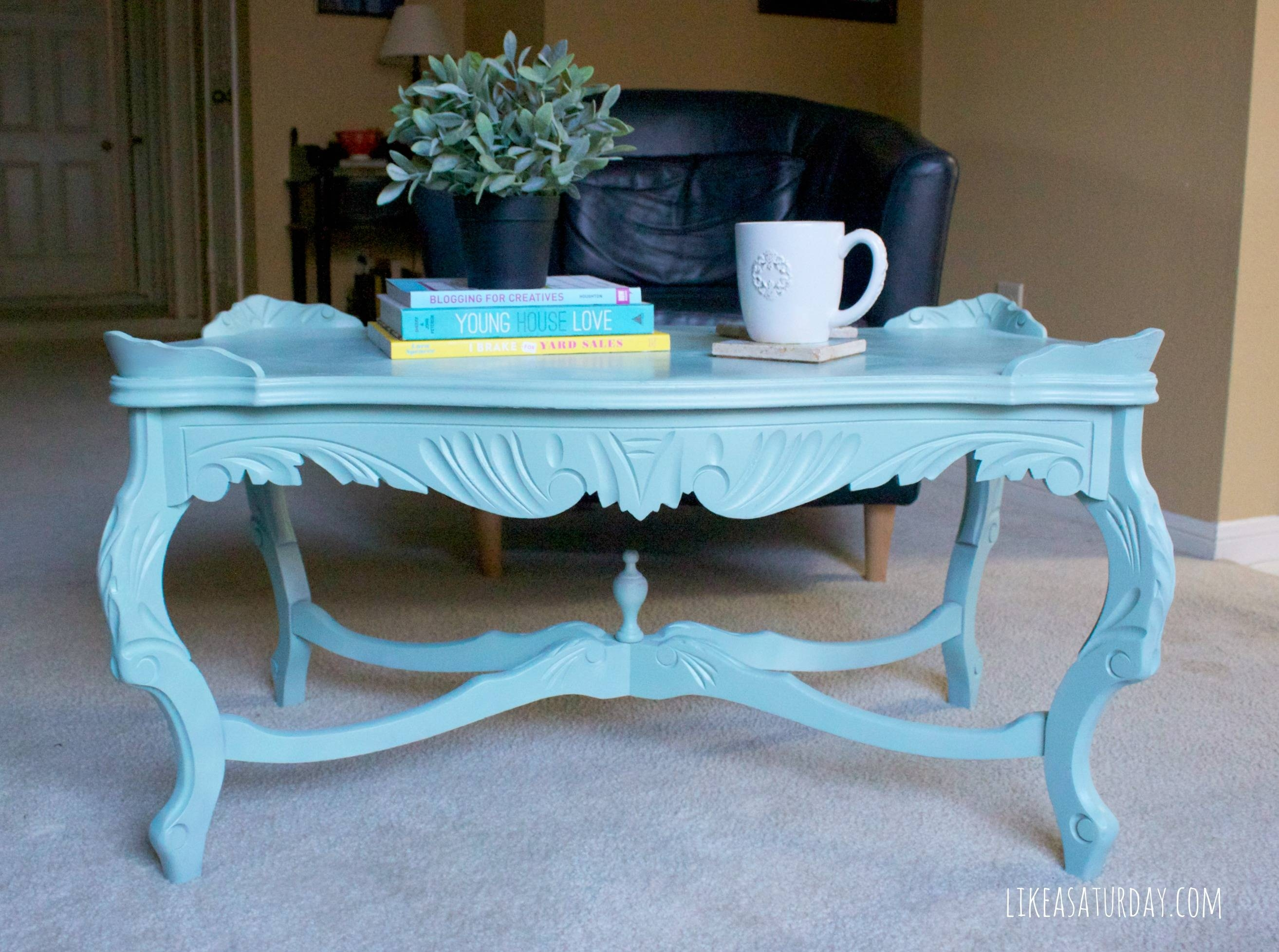 Coffee Tables: Exciting Colorful Coffee Tables Designs Blue Coffee with regard to Blue Coffee Tables (Image 17 of 30)
