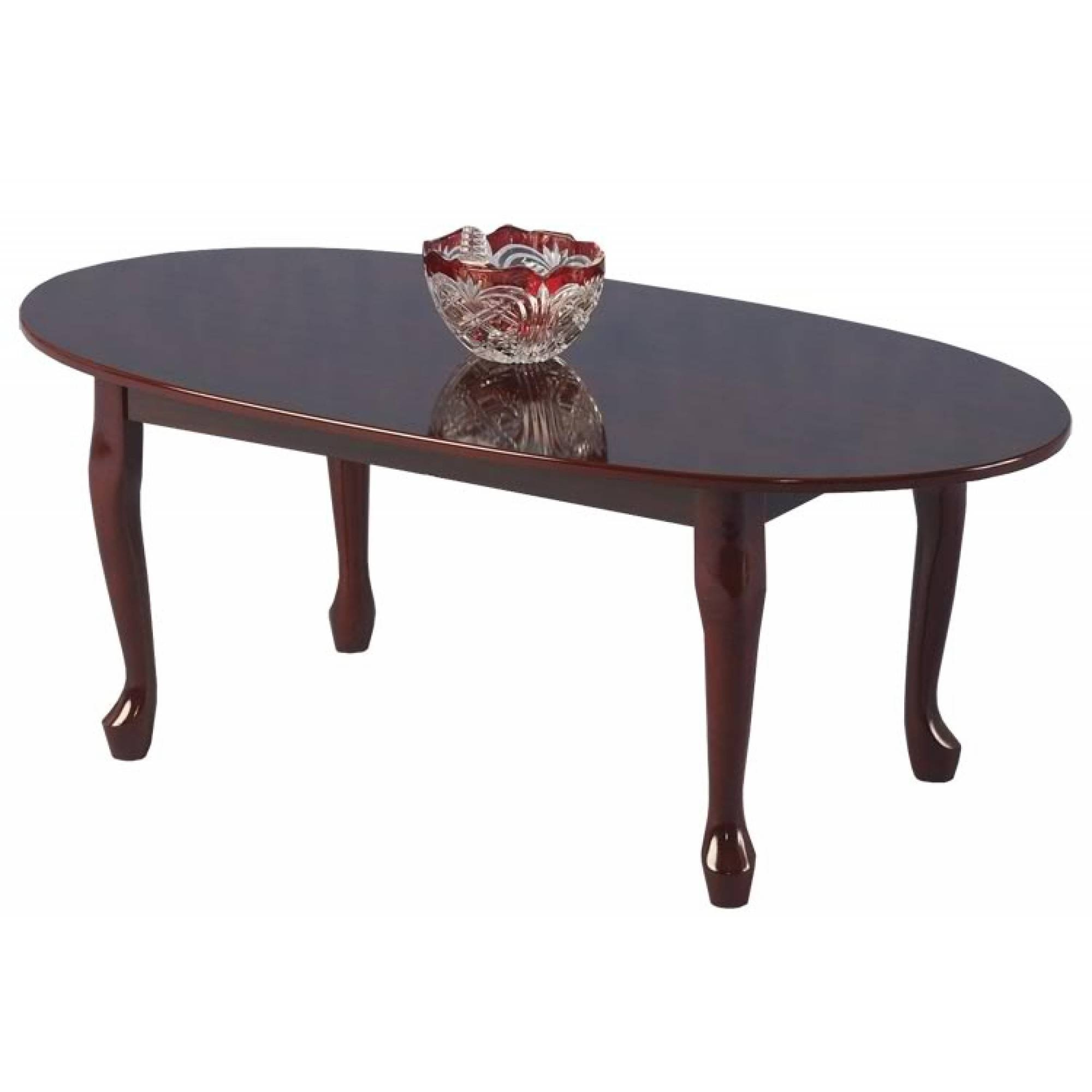Coffee Tables: Extraordinary Traditional Coffee Tables Design throughout Oval Wooden Coffee Tables (Image 8 of 30)