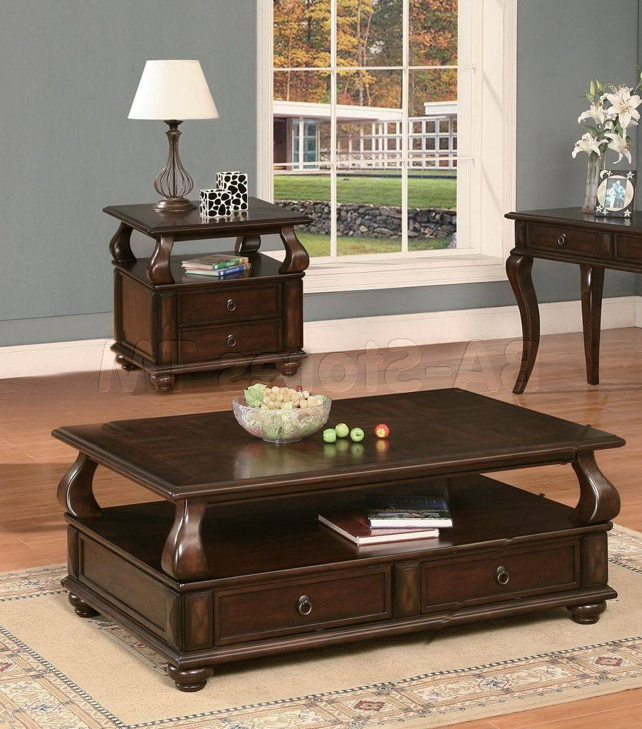 Coffee Tables For Living Room Black Wood Glass Top Square Coffee pertaining to Big Square Coffee Tables (Image 14 of 30)