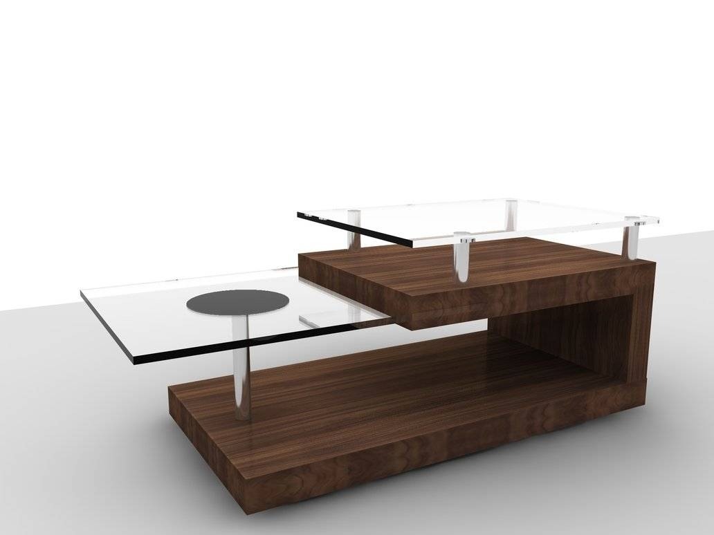 Coffee Tables: Glamorous Contemporary Coffee Tables Designs All with Wood Modern Coffee Tables (Image 10 of 30)