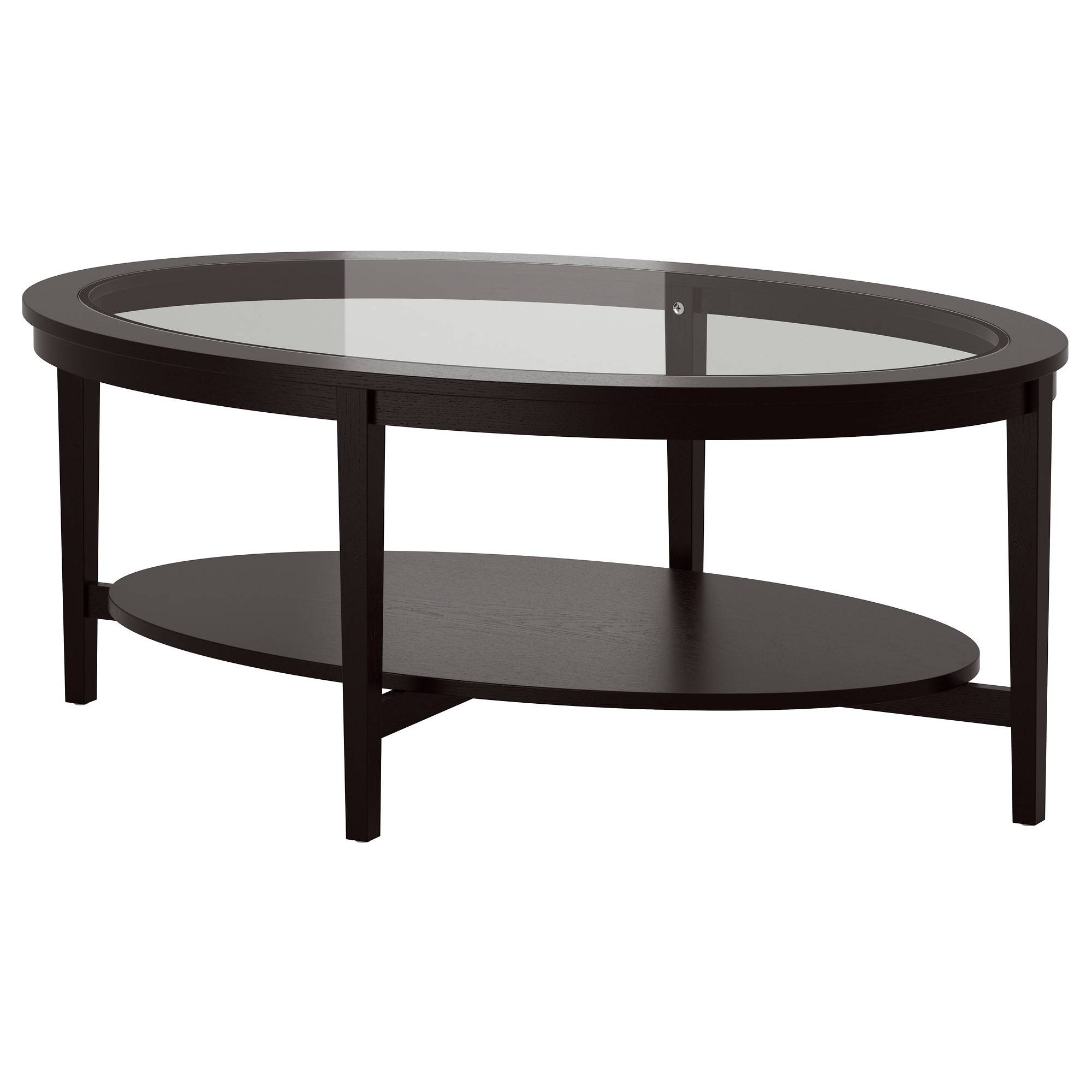 Featured Photo of Oval Black Glass Coffee Tables