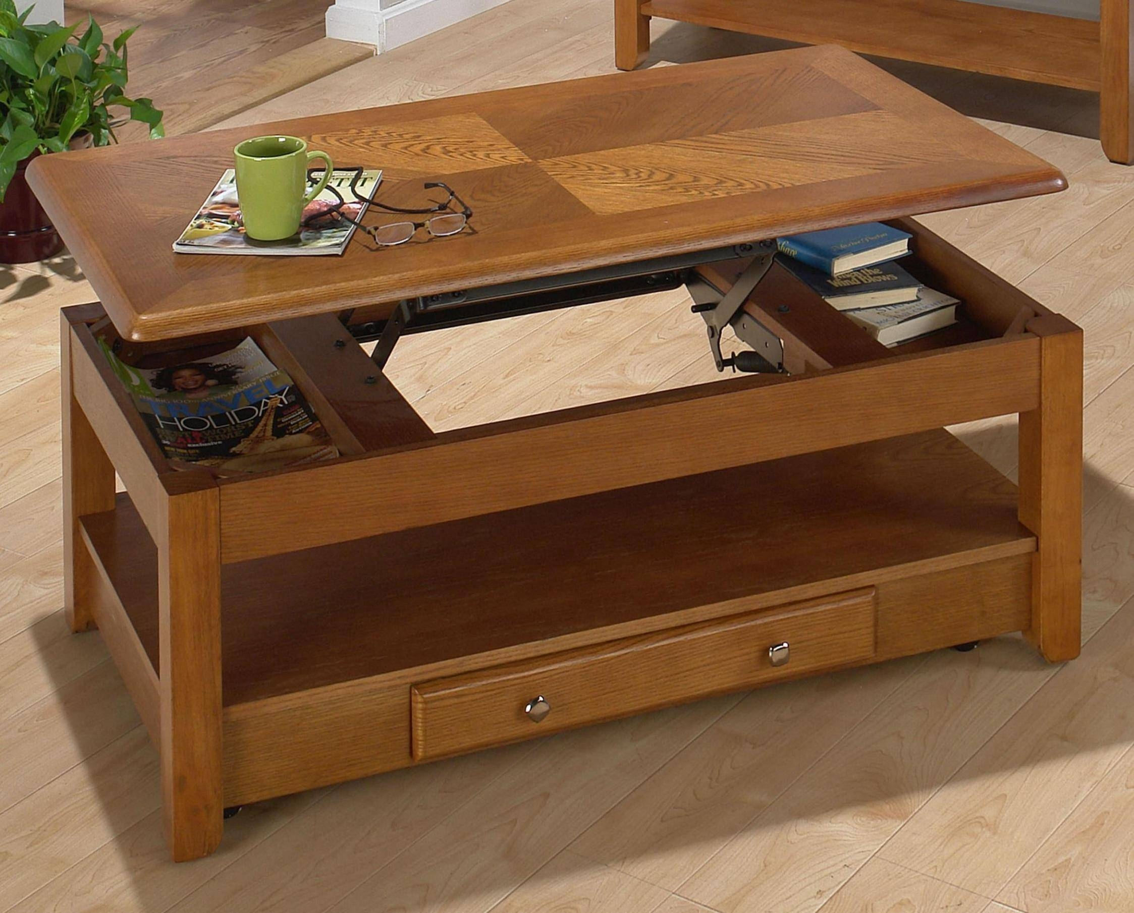 Coffee Tables Ideas: Best Coffee Table That Lifts Upozzio Intended For Raise Up Coffee Tables (View 19 of 30)