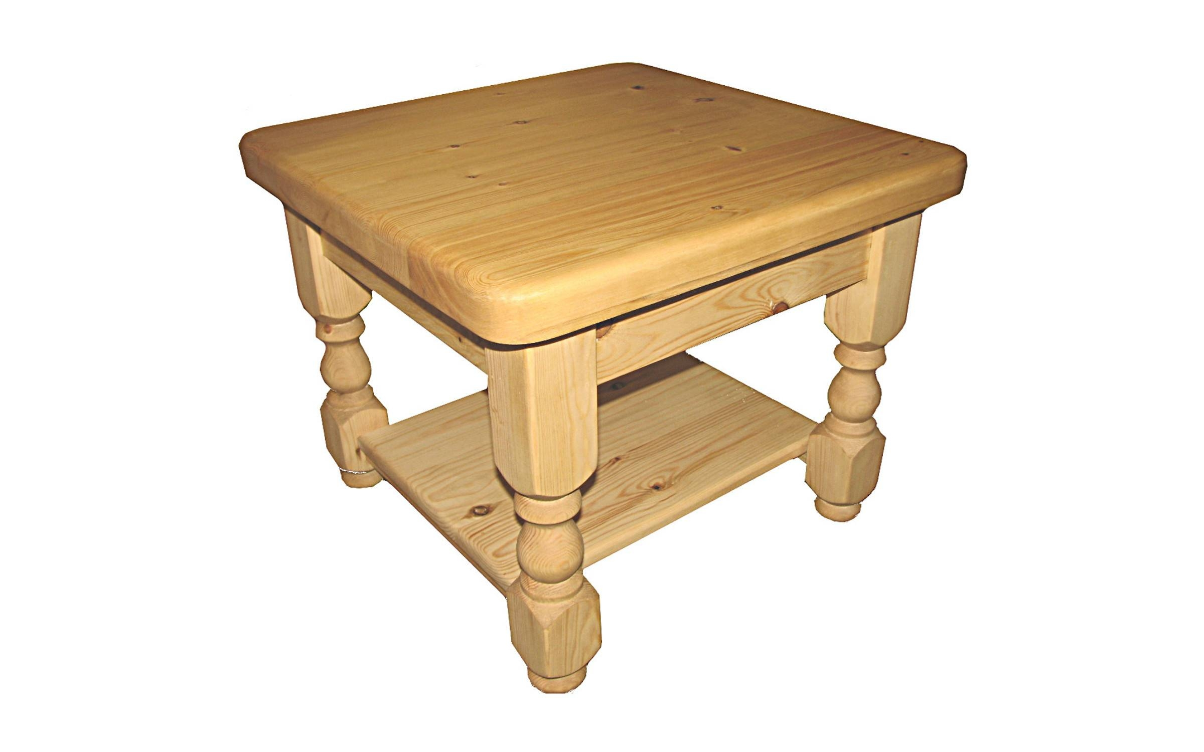 Coffee Tables – Kerris Farmhouse Pine intended for Square Pine Coffee Tables (Image 10 of 30)