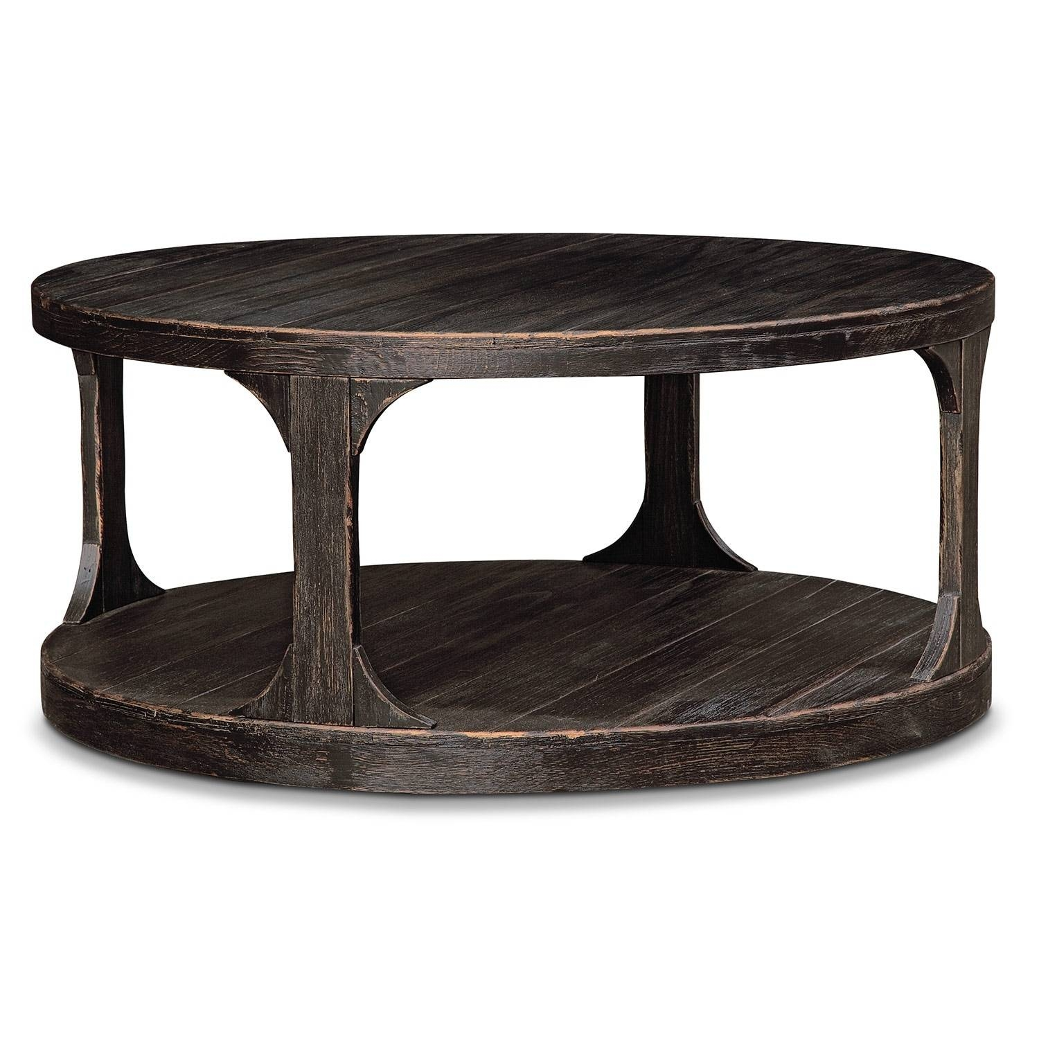 Coffee Tables | Living Room Tables | American Signature Furniture pertaining to Rounded Corner Coffee Tables (Image 13 of 30)