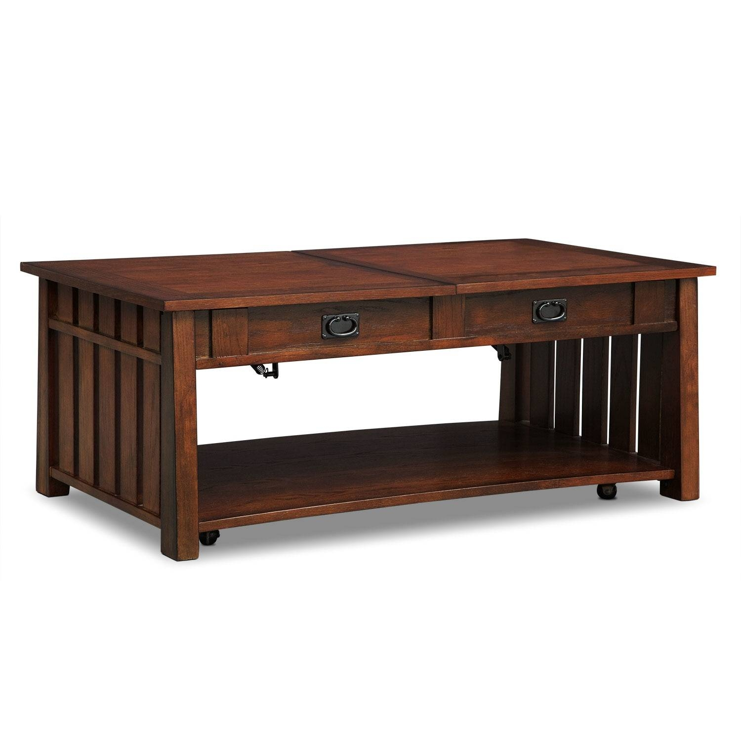 Coffee Tables | Living Room Tables | American Signature Furniture regarding Aiden Coffee Tables (Image 15 of 30)