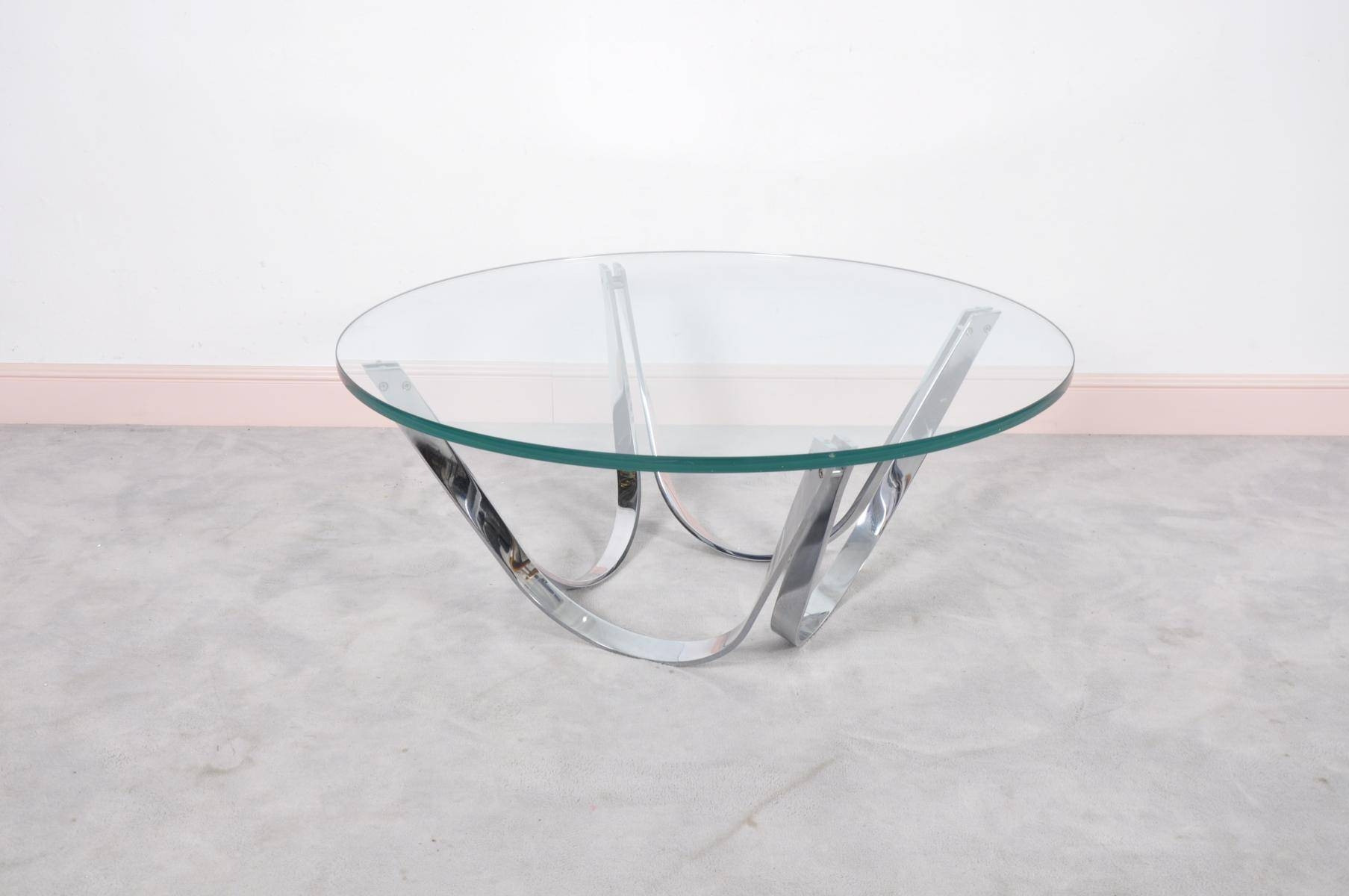 Coffee Tables: Marvellous Round Glass Coffee Tables Designs Large regarding Unusual Glass Coffee Tables (Image 12 of 30)