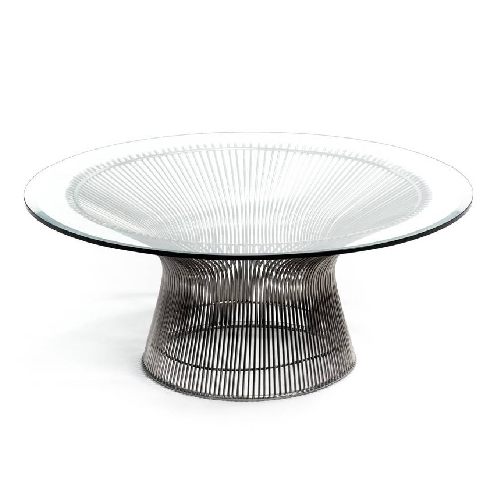 Coffee Tables: Marvellous Round Glass Coffee Tables Designs Large with Round Glass Coffee Tables (Image 10 of 30)