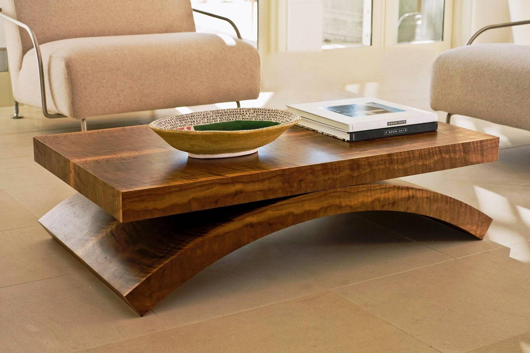 Coffee Tables: Popular Oversized Coffee Tables Designs Large With Solid Wood Coffee Tables (View 16 of 30)