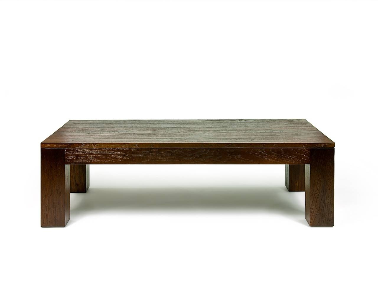 Coffee Tables: Popular Wooden Coffee Tables Design Ideas Square in Dark Wood Square Coffee Tables (Image 11 of 30)