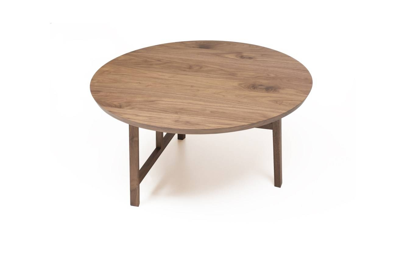 Coffee Tables : Round Coffee Table Ottoman Sensational' Alluring Pertaining To Small Circular Coffee Table (View 8 of 30)