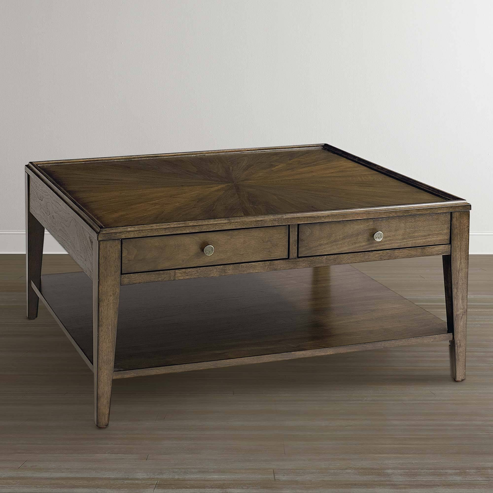 Coffee Tables | Storage Coffee Tables with regard to Square Coffee Tables With Drawers (Image 9 of 30)
