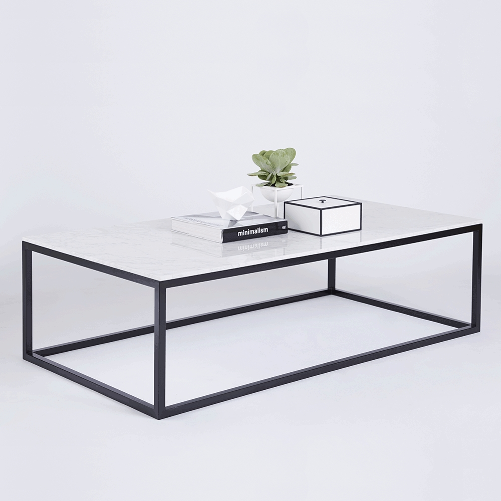 Coffee Tables : Stunning Coffee Table Marble The Max Rectangular for C Coffee Tables (Image 9 of 30)