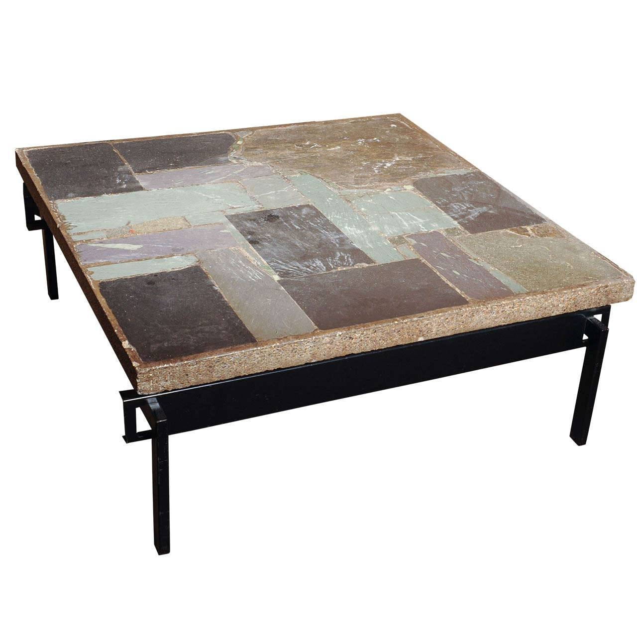 Coffee Tables: Stunning Stone Coffee Tables Designs Outdoor Stone within Square Stone Coffee Tables (Image 14 of 30)