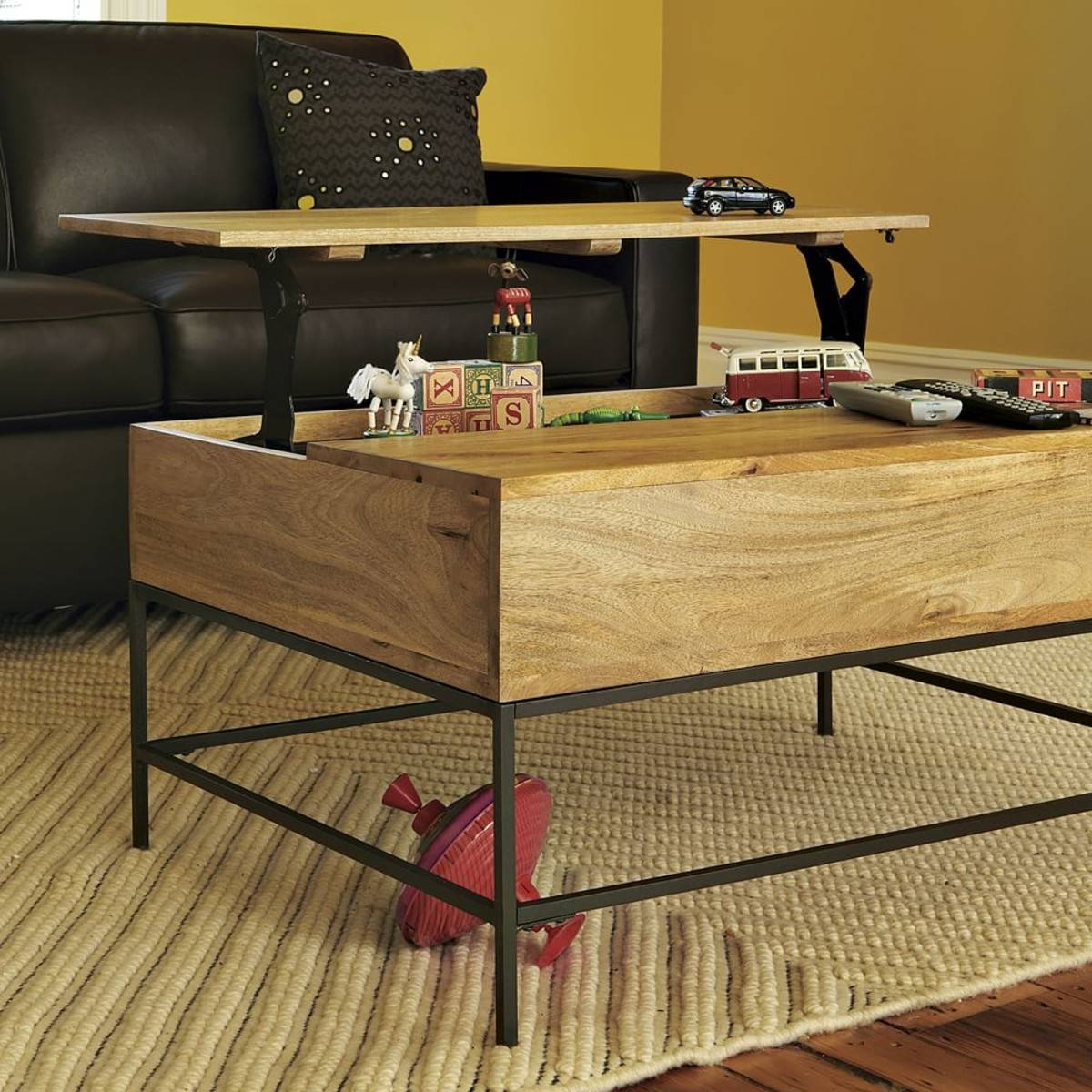 Coffee Tables: Top Storage Coffee Tables Furniture Small End throughout Coffee Tables With Storage (Image 17 of 30)
