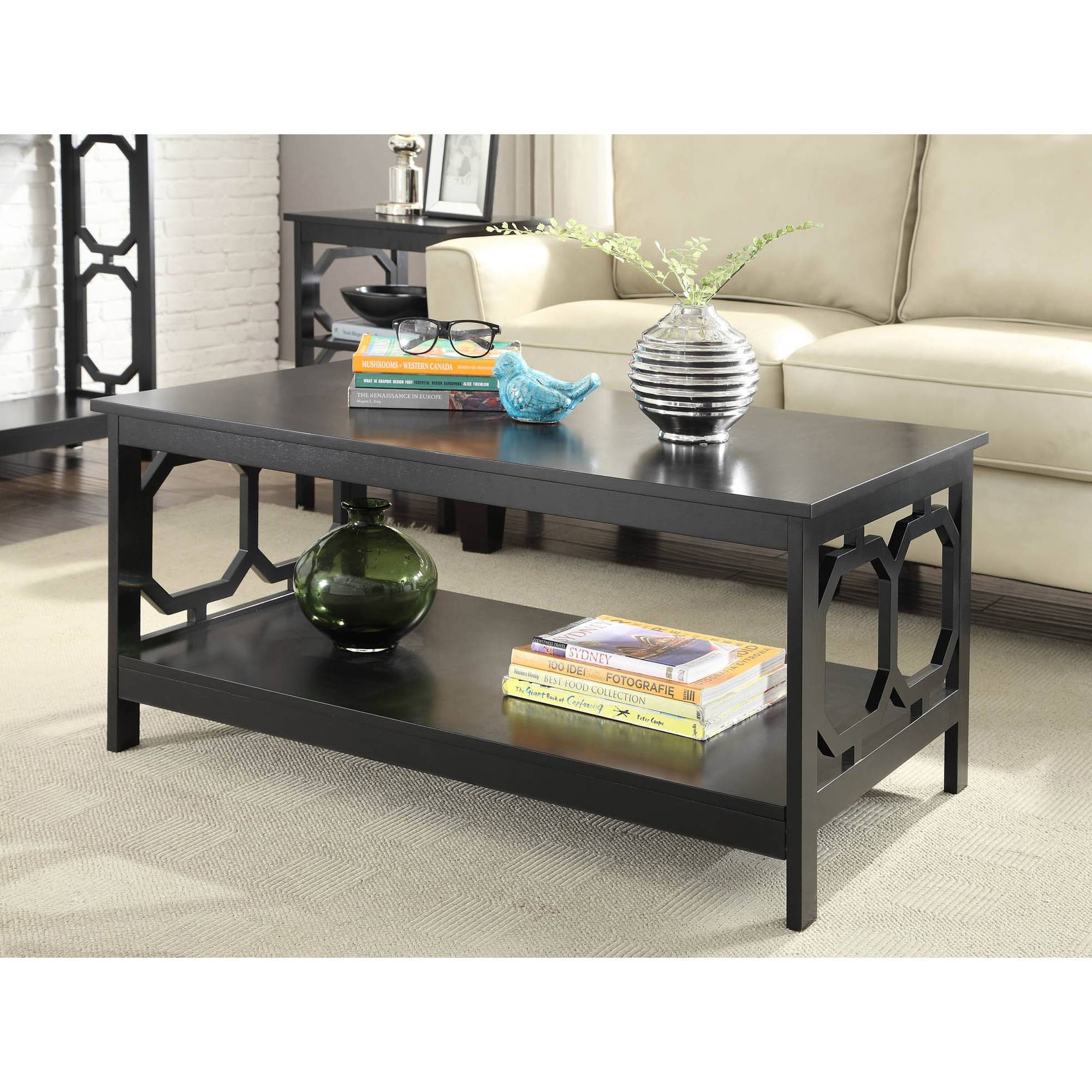 Coffee Tables - Walmart inside Coffee Tables With Baskets Underneath (Image 14 of 30)