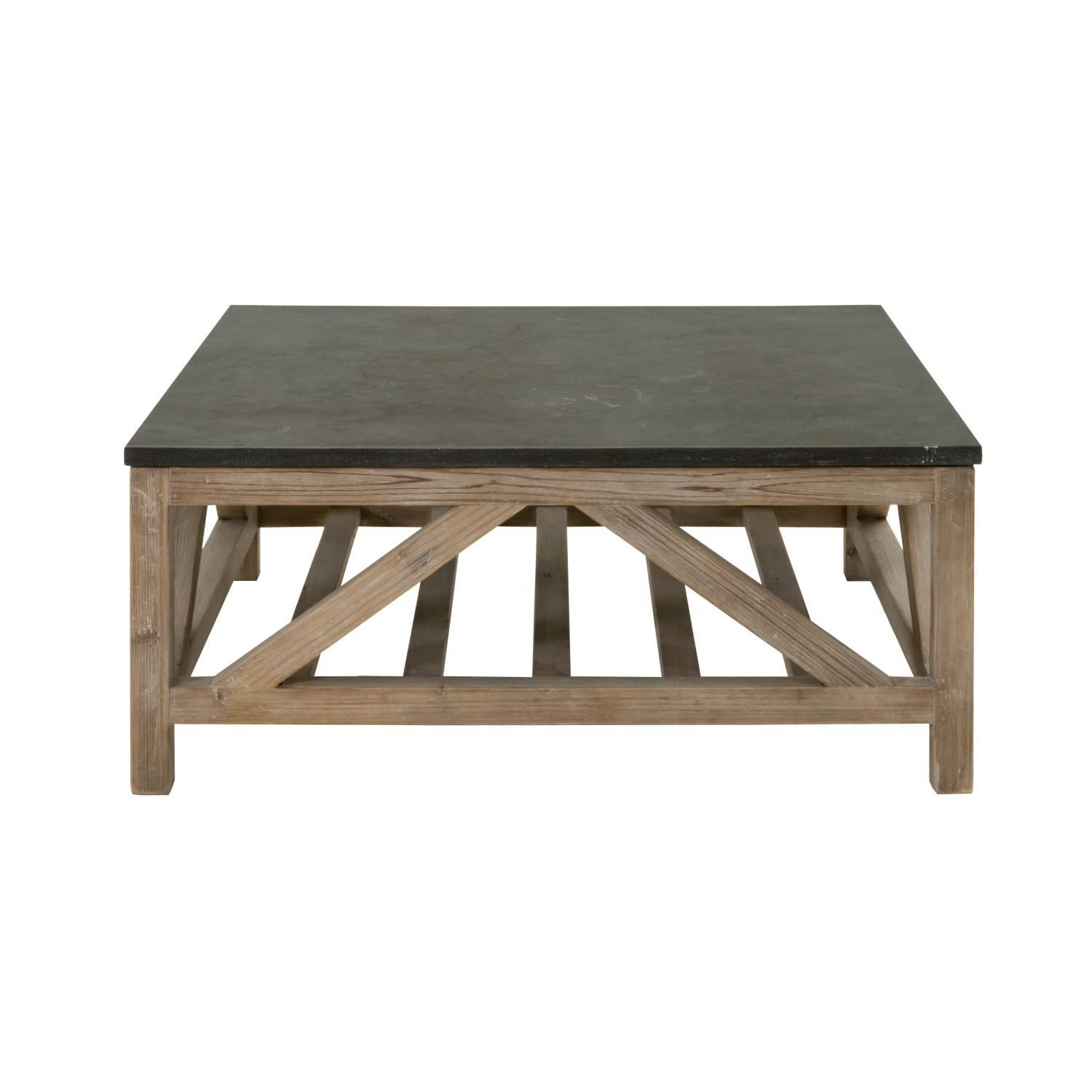 Coffee Tables with Square Stone Coffee Tables (Image 13 of 30)