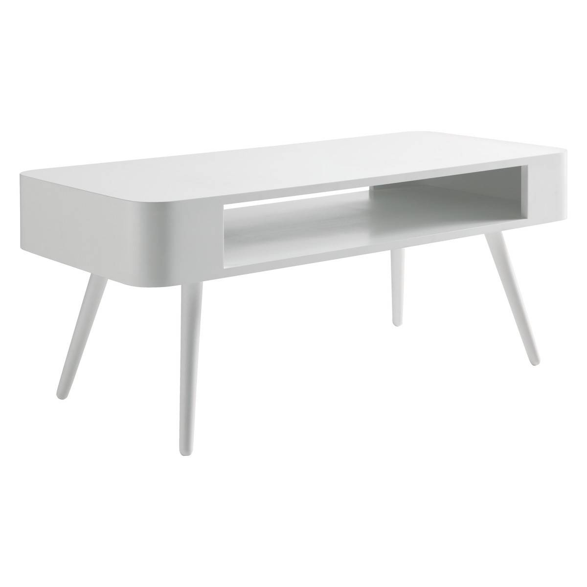 Coffee Tables: Wonderful White Coffee Tables Design Ideas White pertaining to White Retro Coffee Tables (Image 11 of 30)