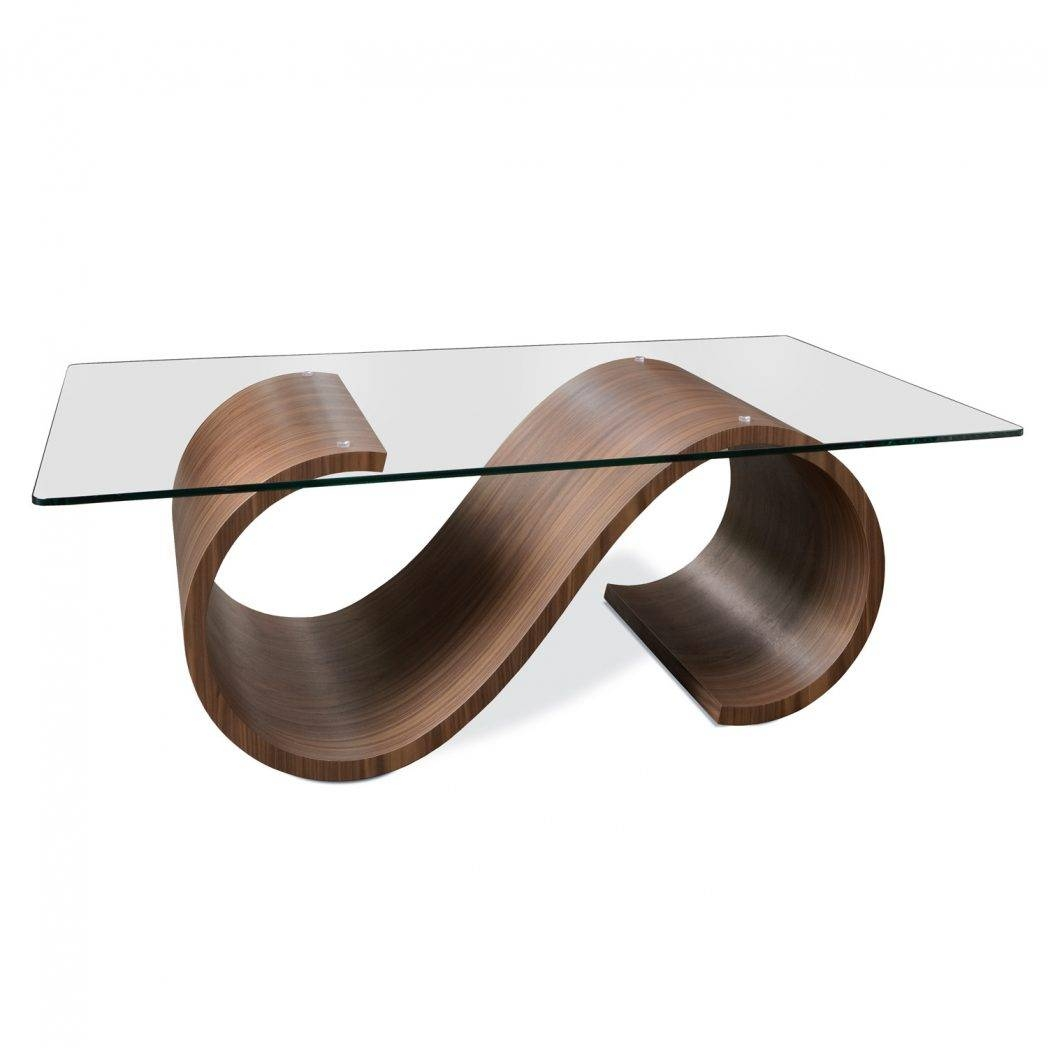 Coffee Tables Wood Glass Pier 1 Imports Swirl Clear Table 2861 intended for Swirl Glass Coffee Tables (Image 7 of 30)