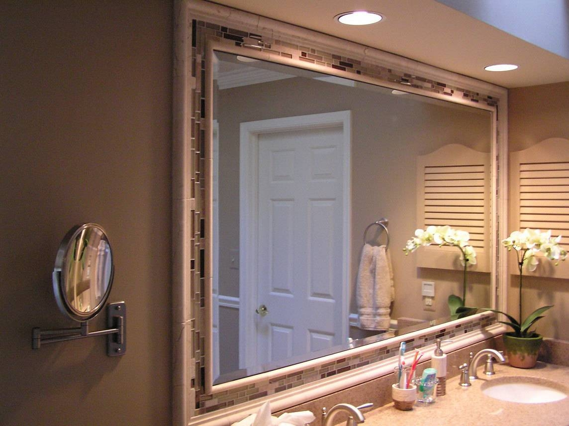 Collection In Diy Bathroom Mirror Frame Ideas With Diy Bathroom regarding Expensive Mirrors (Image 19 of 25)