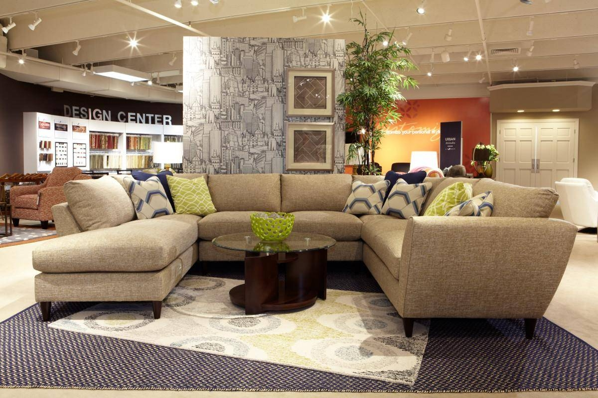 Collection In Lazy Boy Coffee Tables With Round Sectional Sofa with regard to Lazyboy Sectional Sofas (Image 4 of 25)