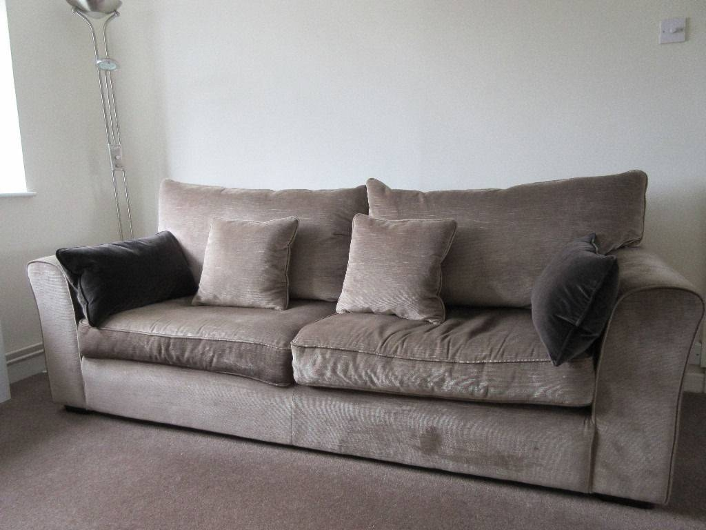 Collins And Hayes Remus Large 4 Seater & Medium 3 Seater Sofa In regarding Large 4 Seater Sofas (Image 4 of 30)